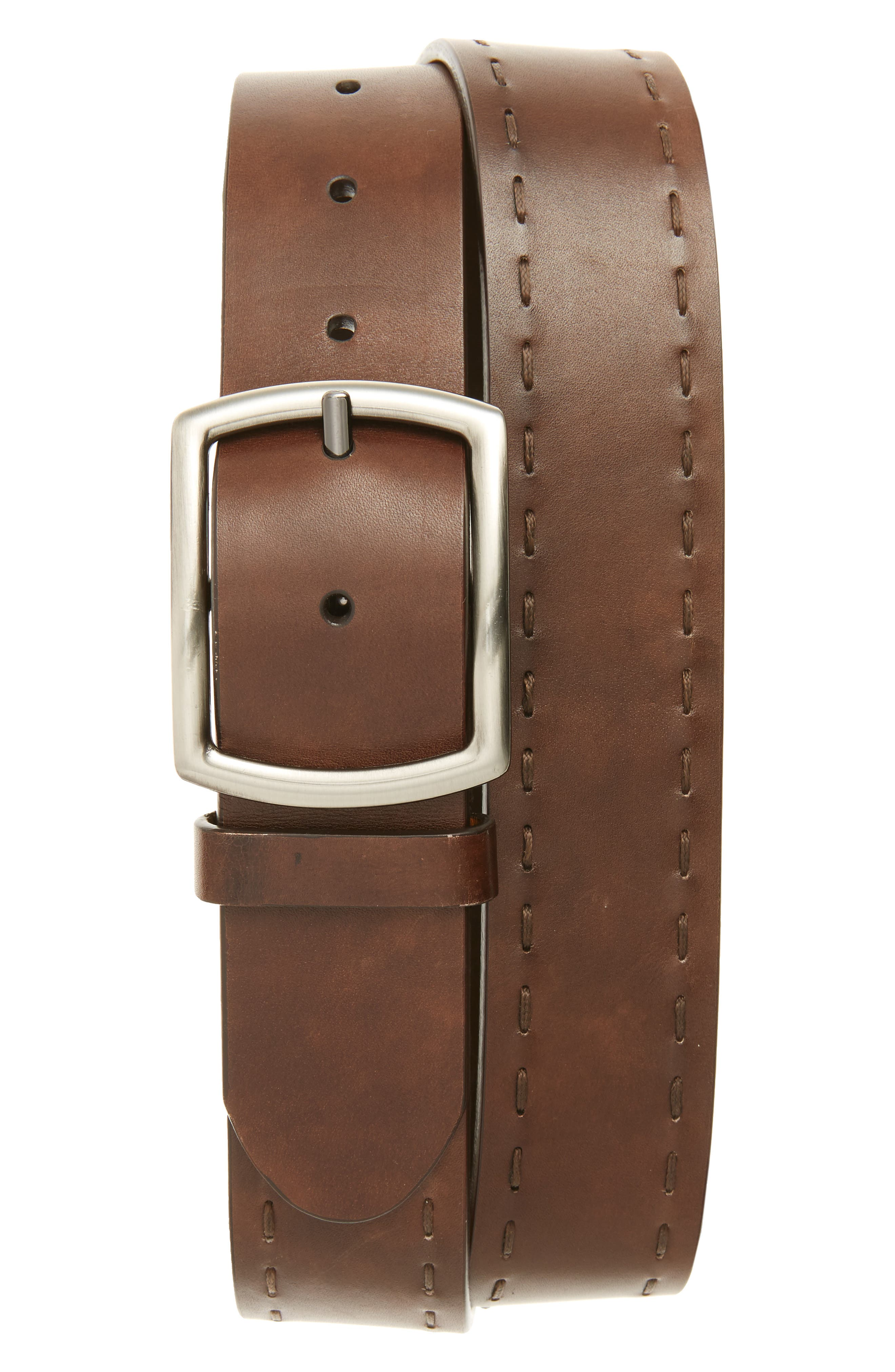 MAGNANNI Leather Belt