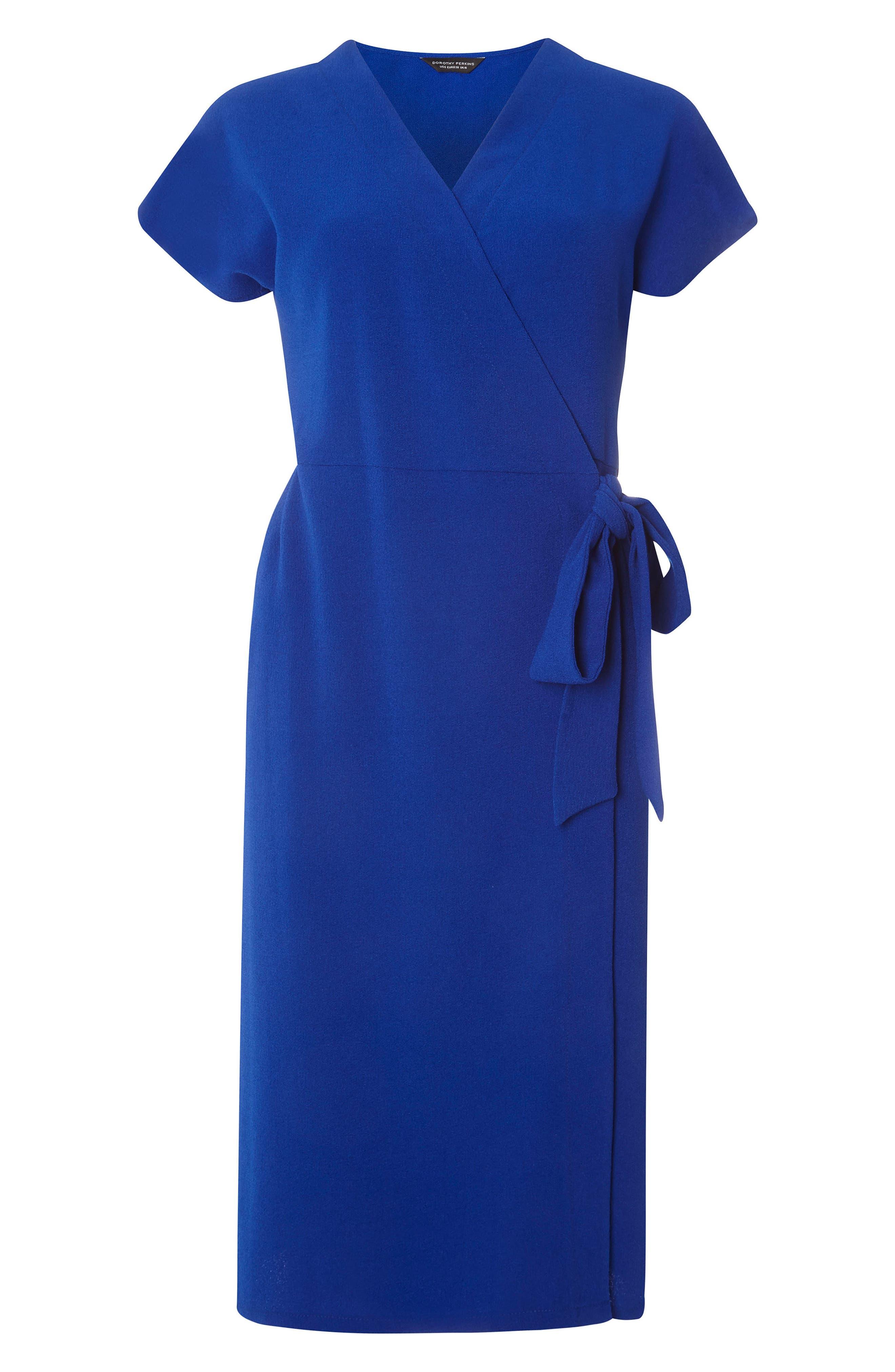 Alternate Image 5  - Dorothy Perkins Wrap Midi Dress
