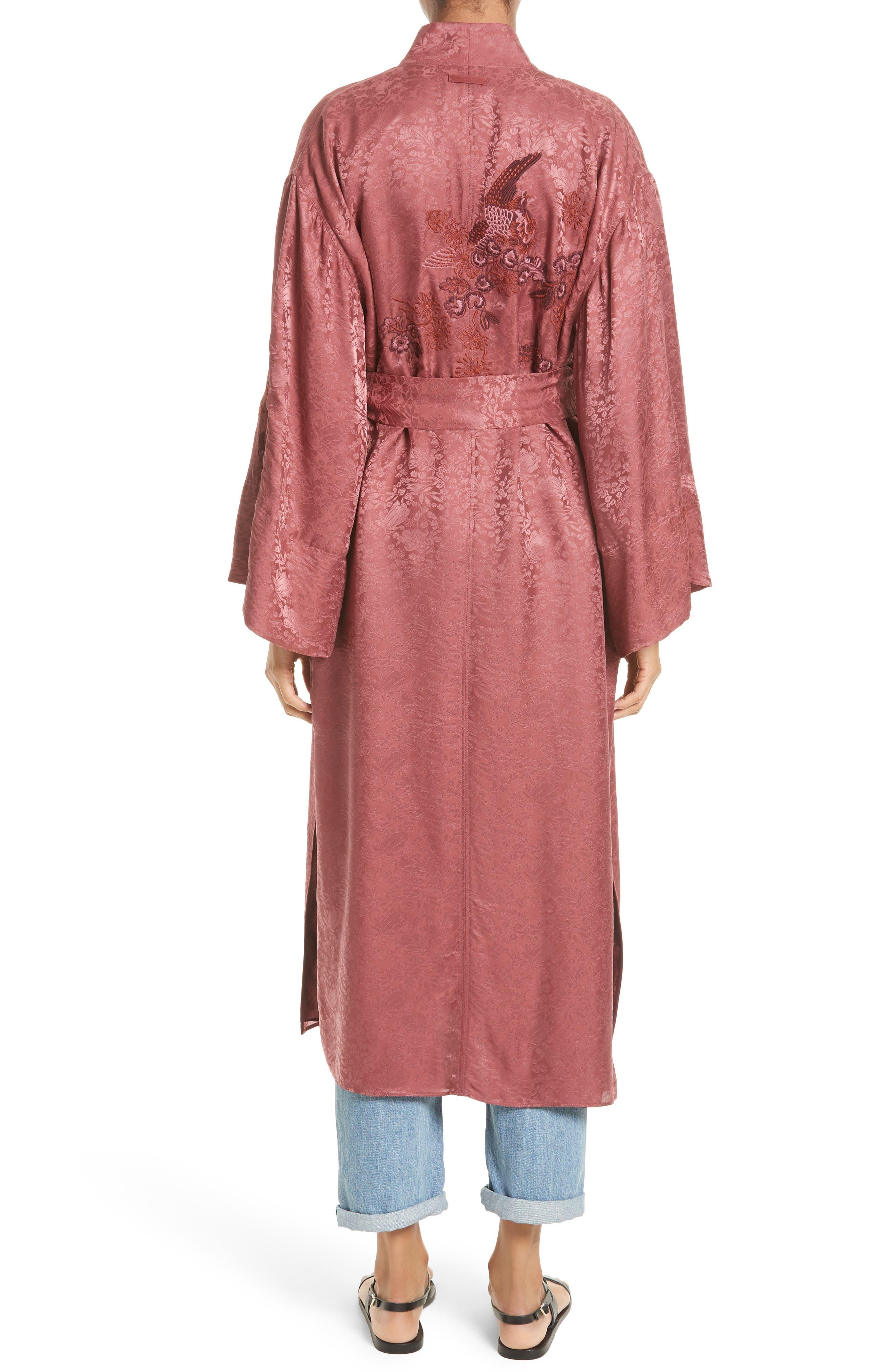 Alternate Image 2  - Elizabeth and James Tracey Jacquard Robe