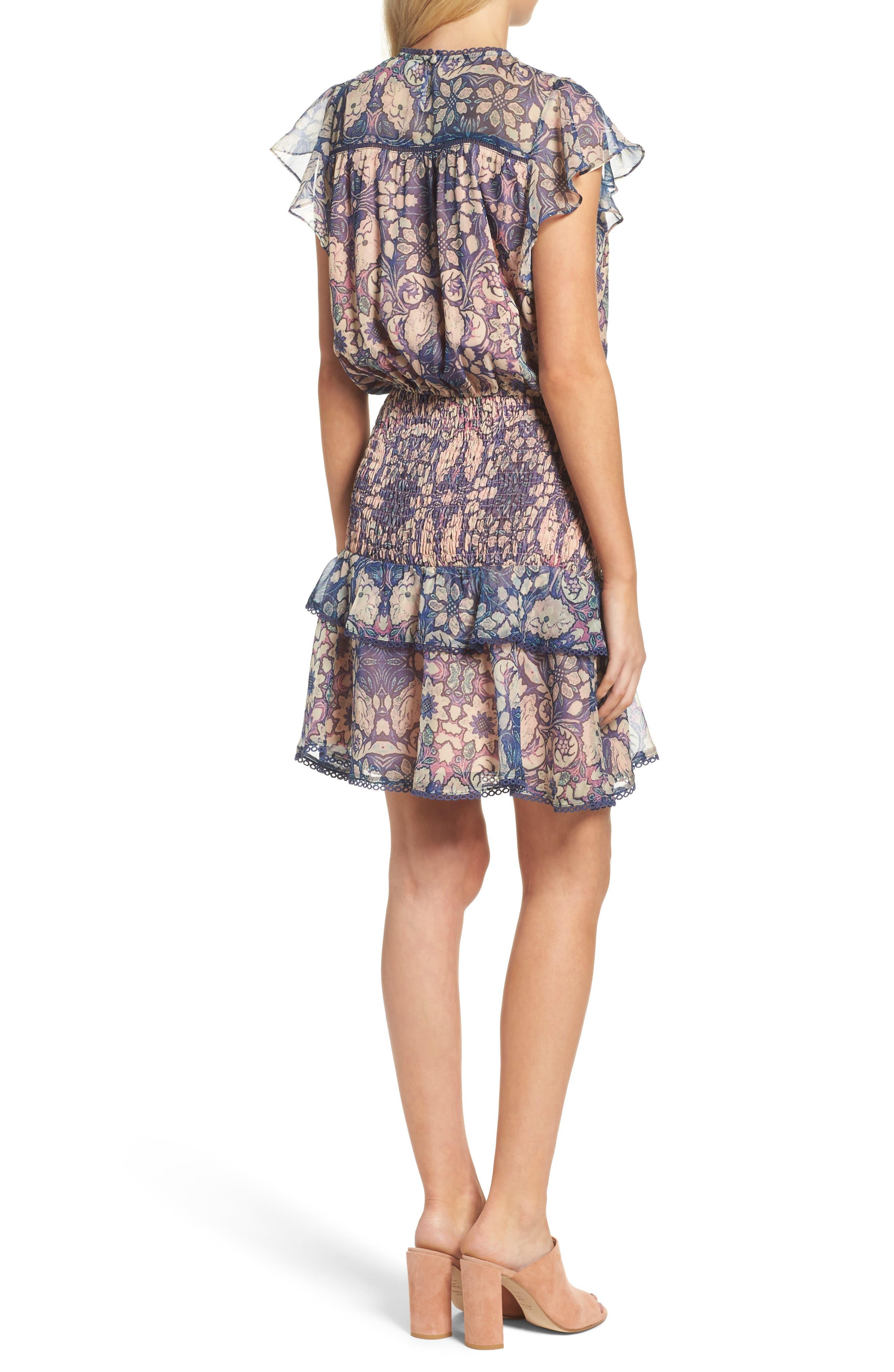 Alternate Image 2  - Chelsea28 Tiered Blouson Dress