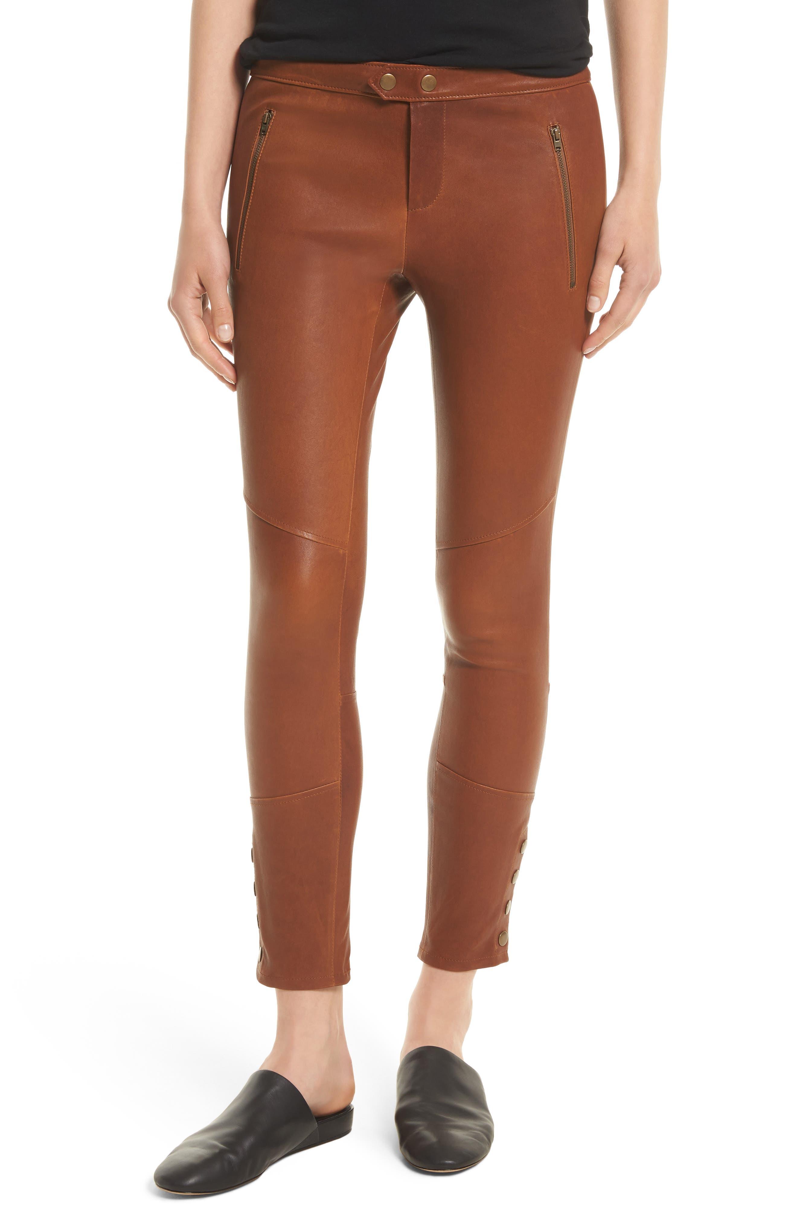 Joie Darnella Leather Pants
