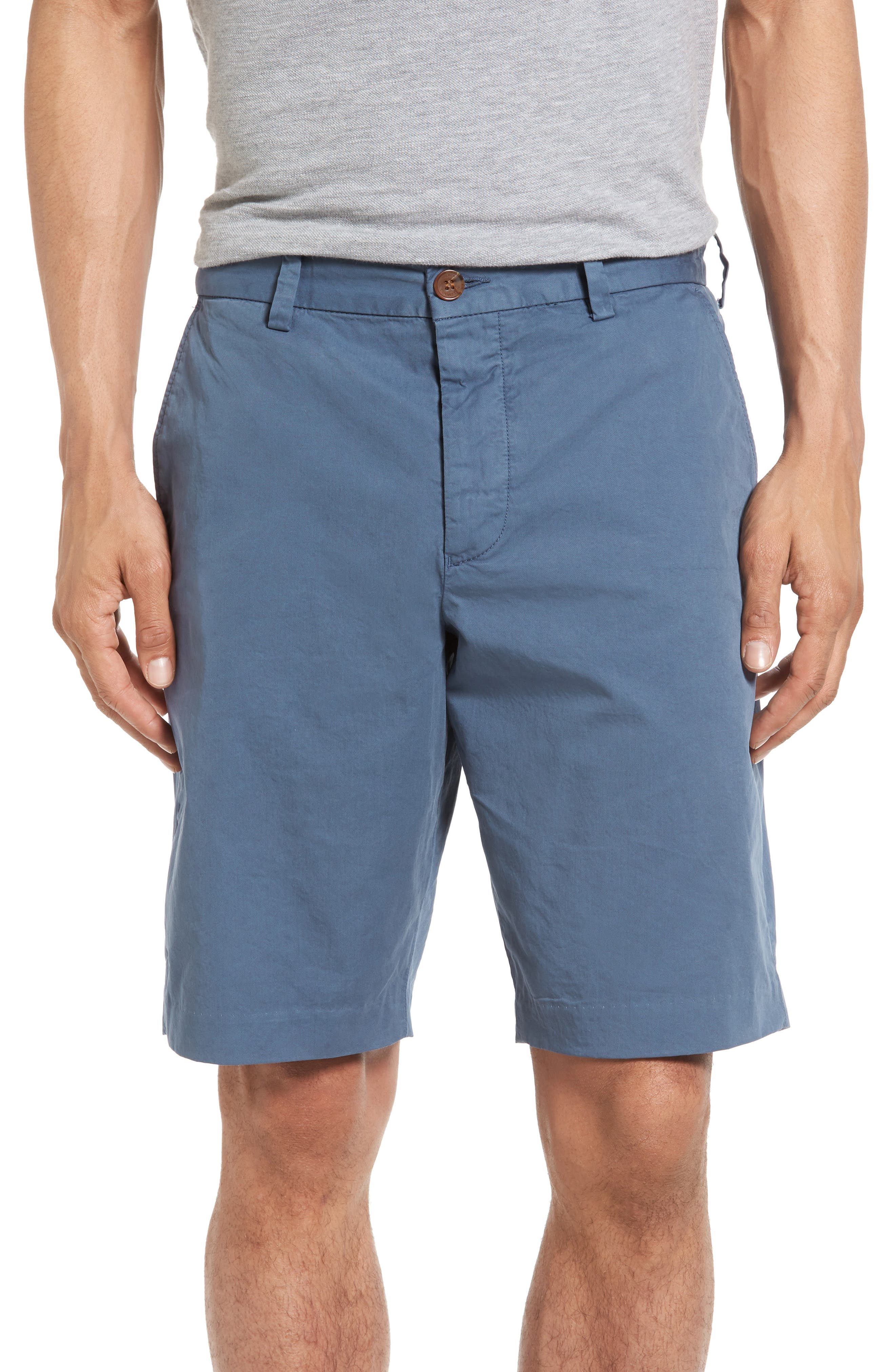 French Connection Peach Pie Flat Front Shorts