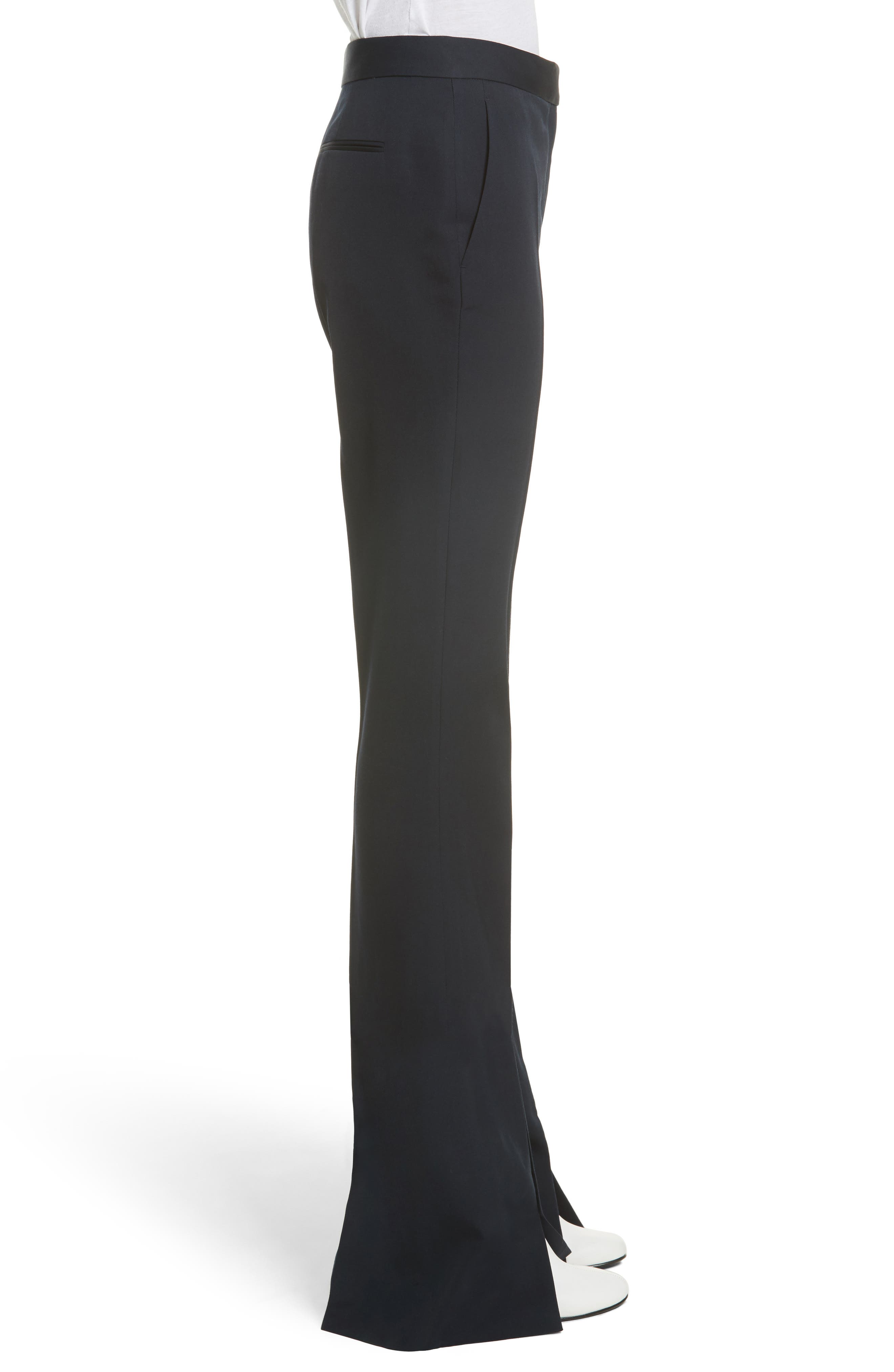 Alternate Image 5  - Stella McCartney Split Hem Flare Trousers