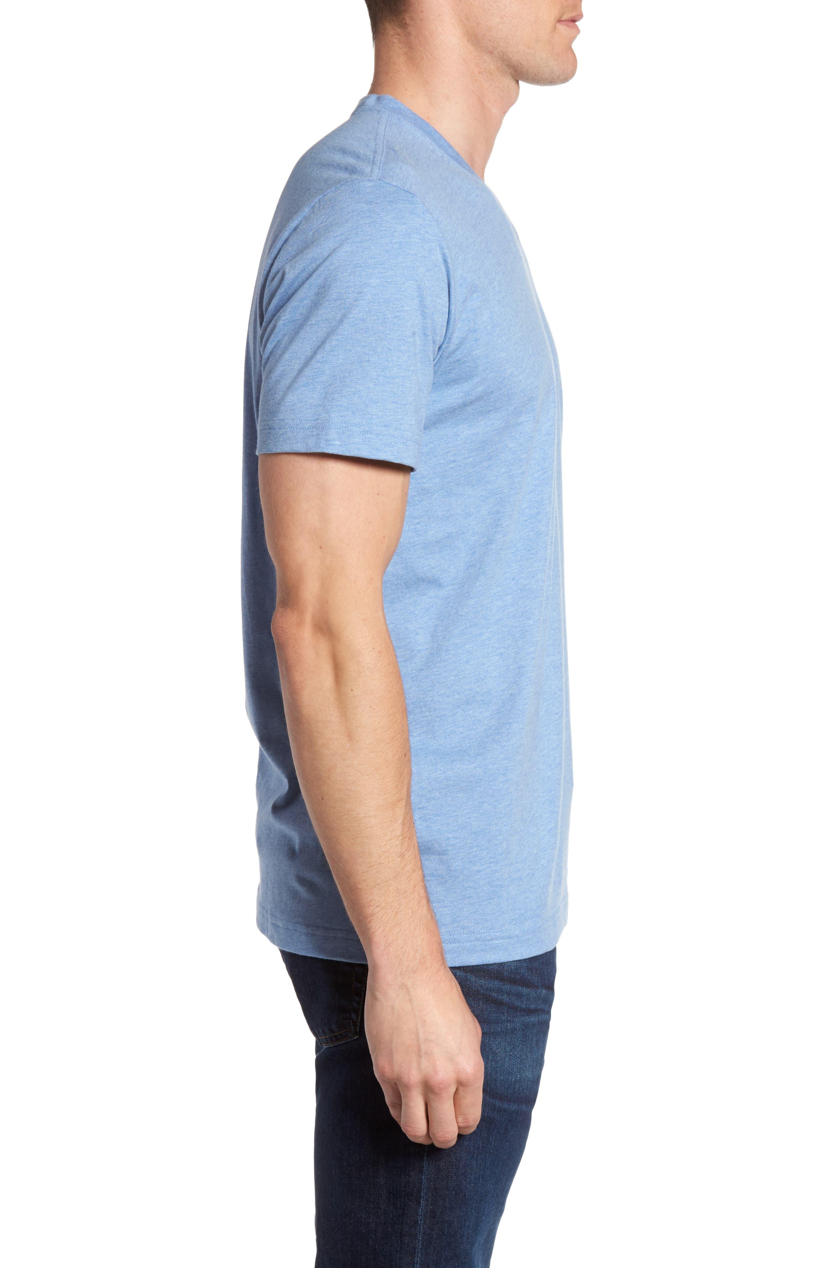 Alternate Image 3  - Psycho Bunny Classic V-Neck T-Shirt