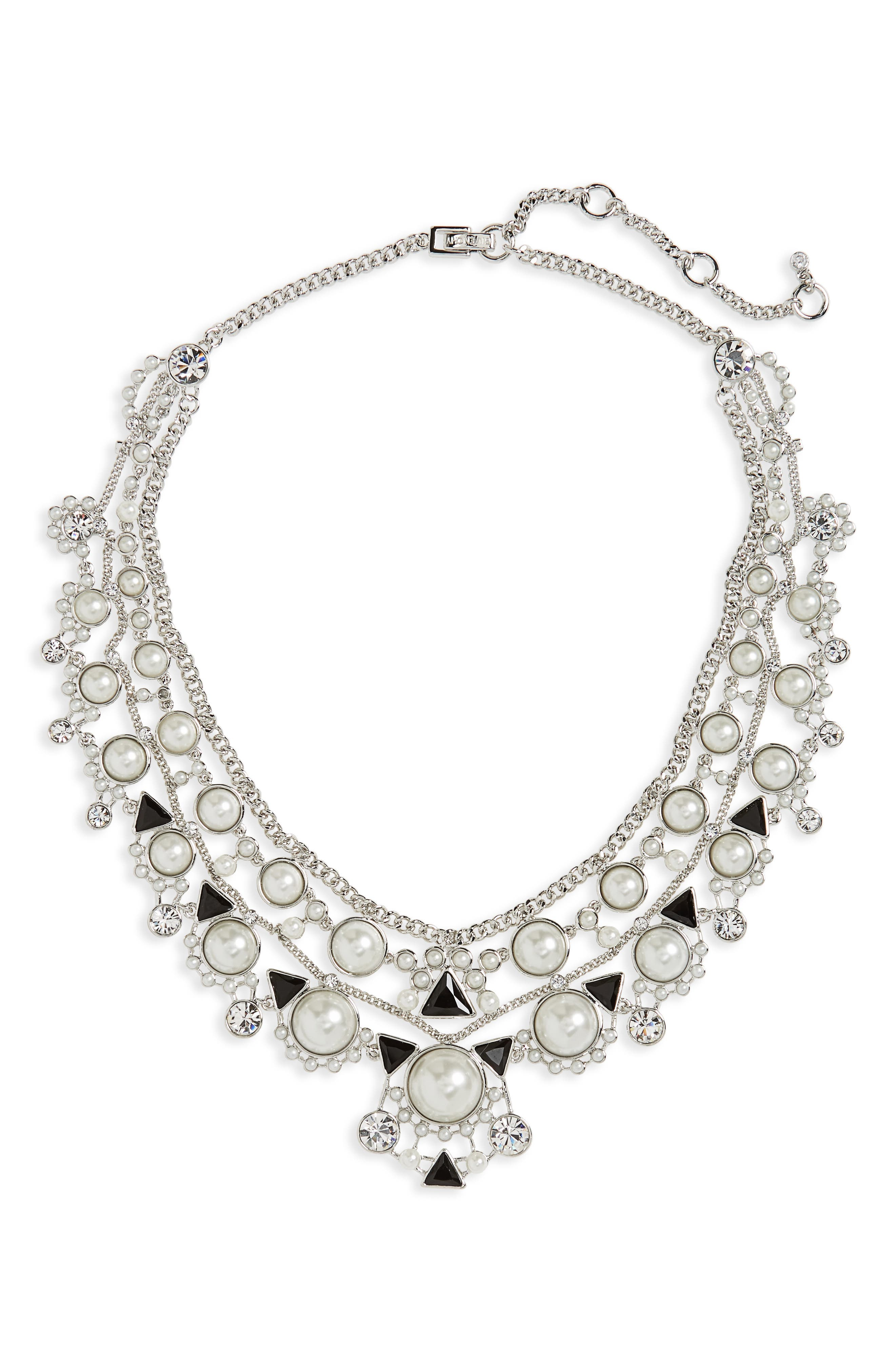Givenchy Chelsea Drama Collar Necklace