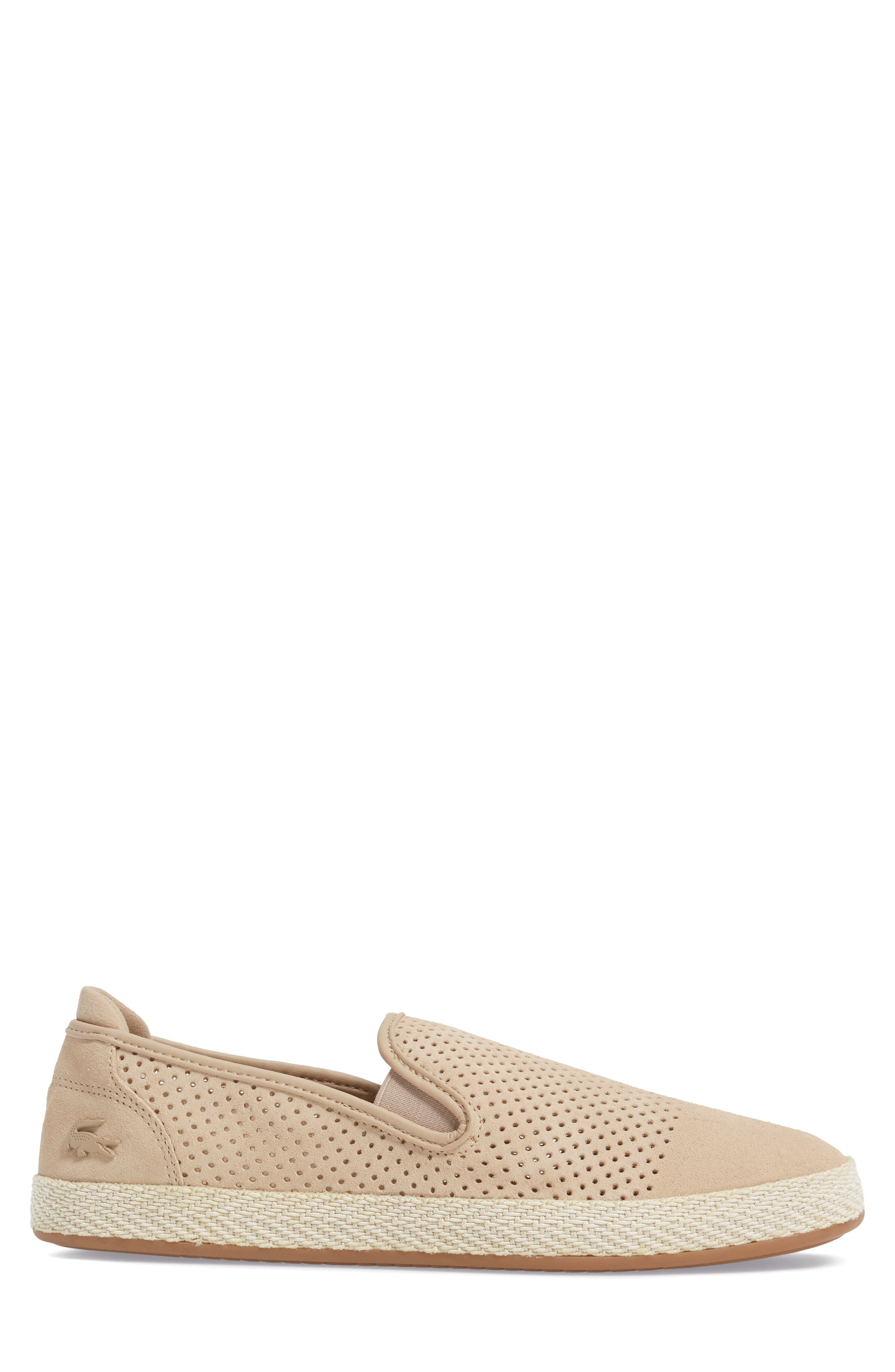 Tombre Slip-On,                             Alternate thumbnail 3, color,                             Natural Suede
