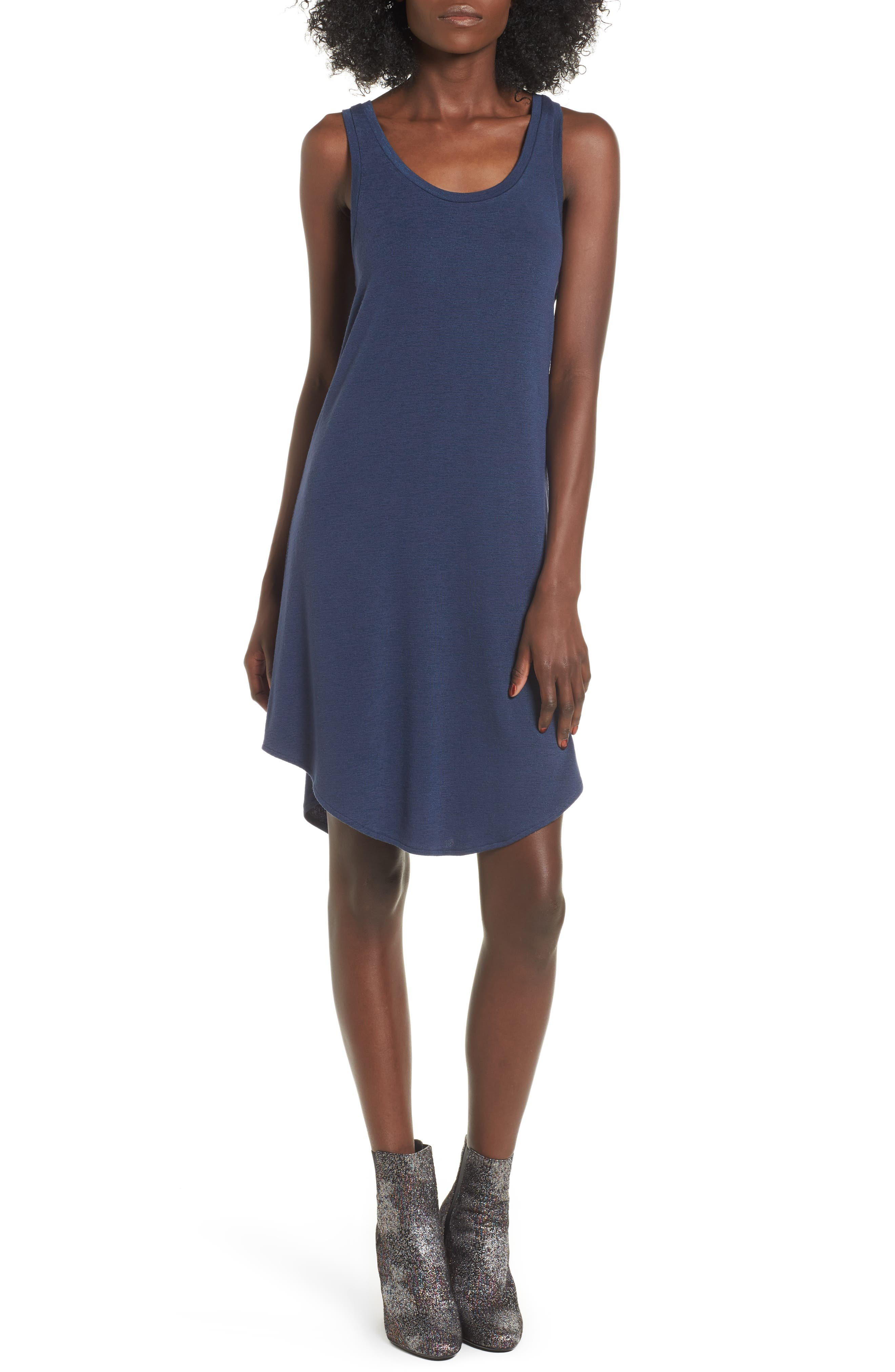Dress for Women, Evening Cocktail Party On Sale, Blue, Cotton, 2017, 6 8 rag & bone JEAN