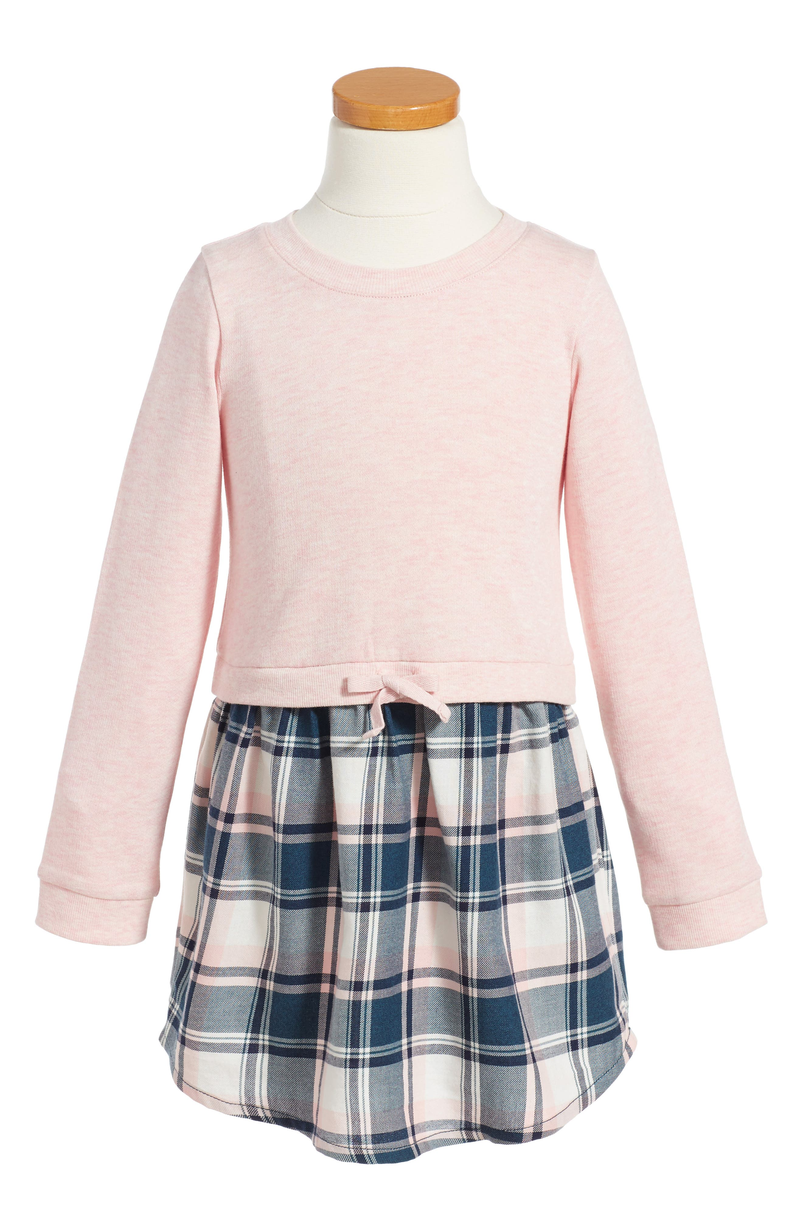 Tucker + Tate Plaid Dress (Toddler Girls, Little Girls & Big Girls)