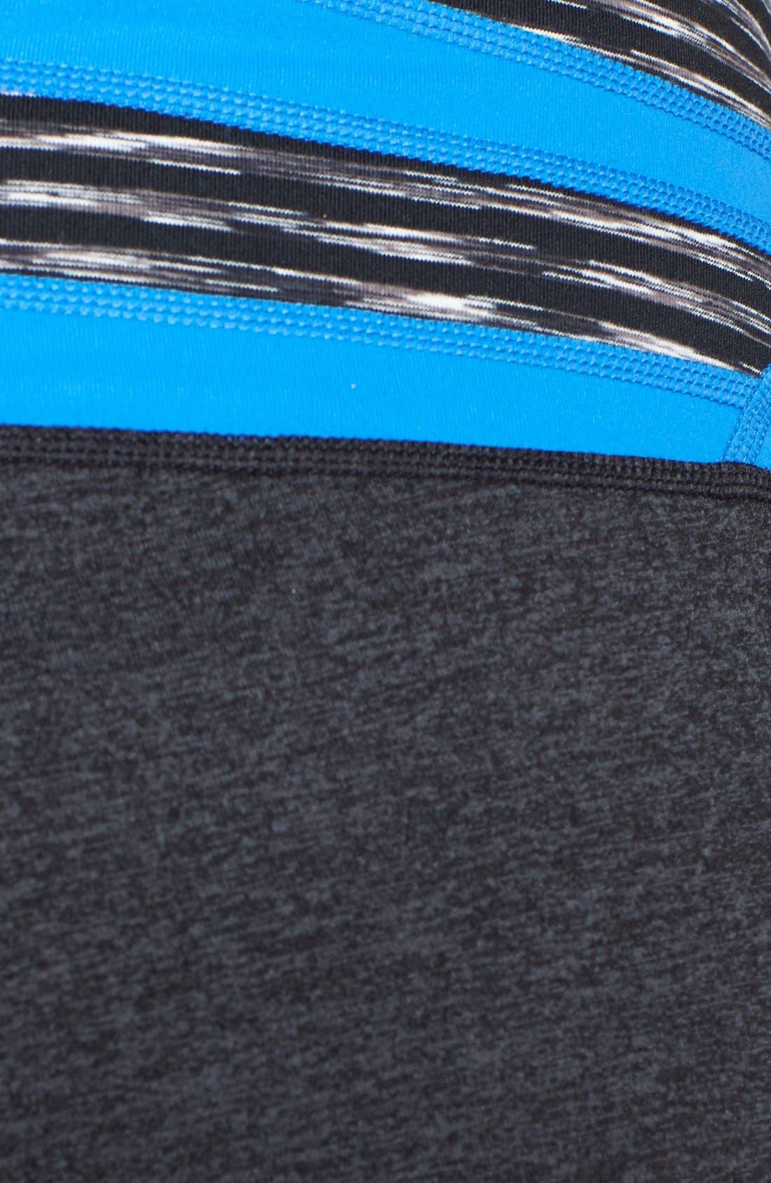 Alternate Image 3  - Zella 'Barely Flare Booty' Cross Dye Pants