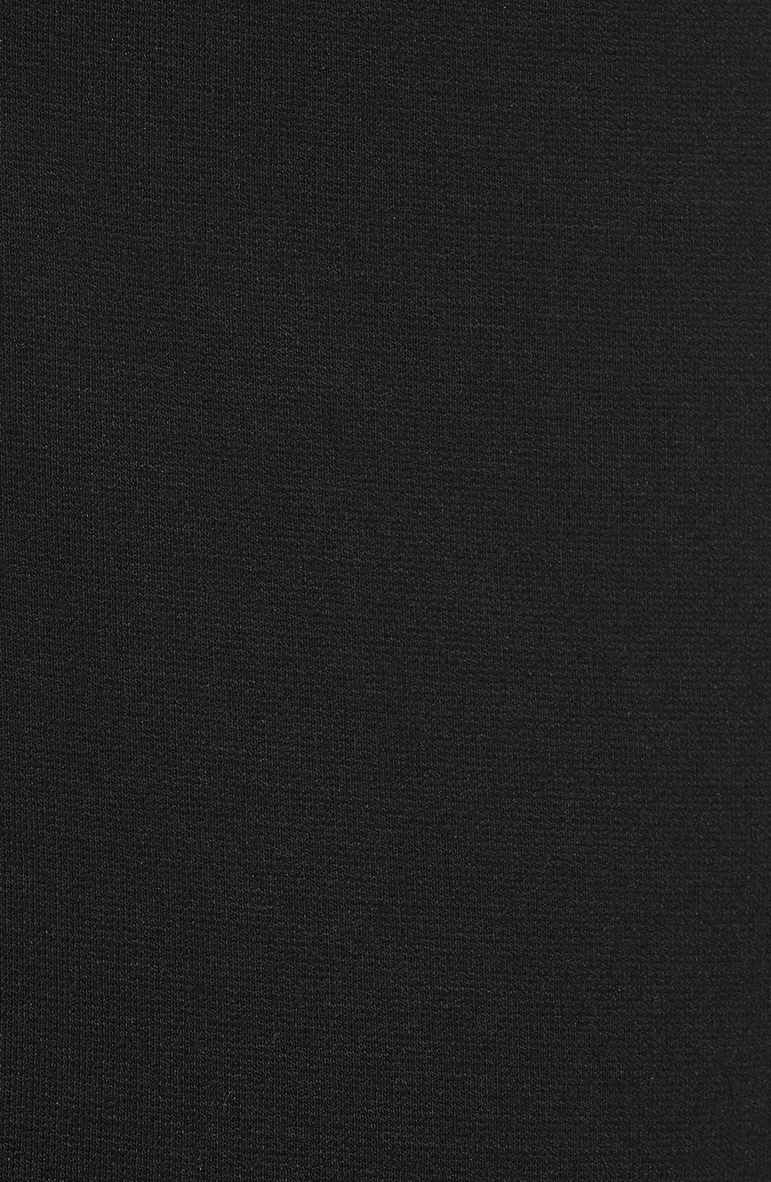Rhinestone Halter Dress,                             Alternate thumbnail 6, color,                             Nero/ Rosa/ Oro