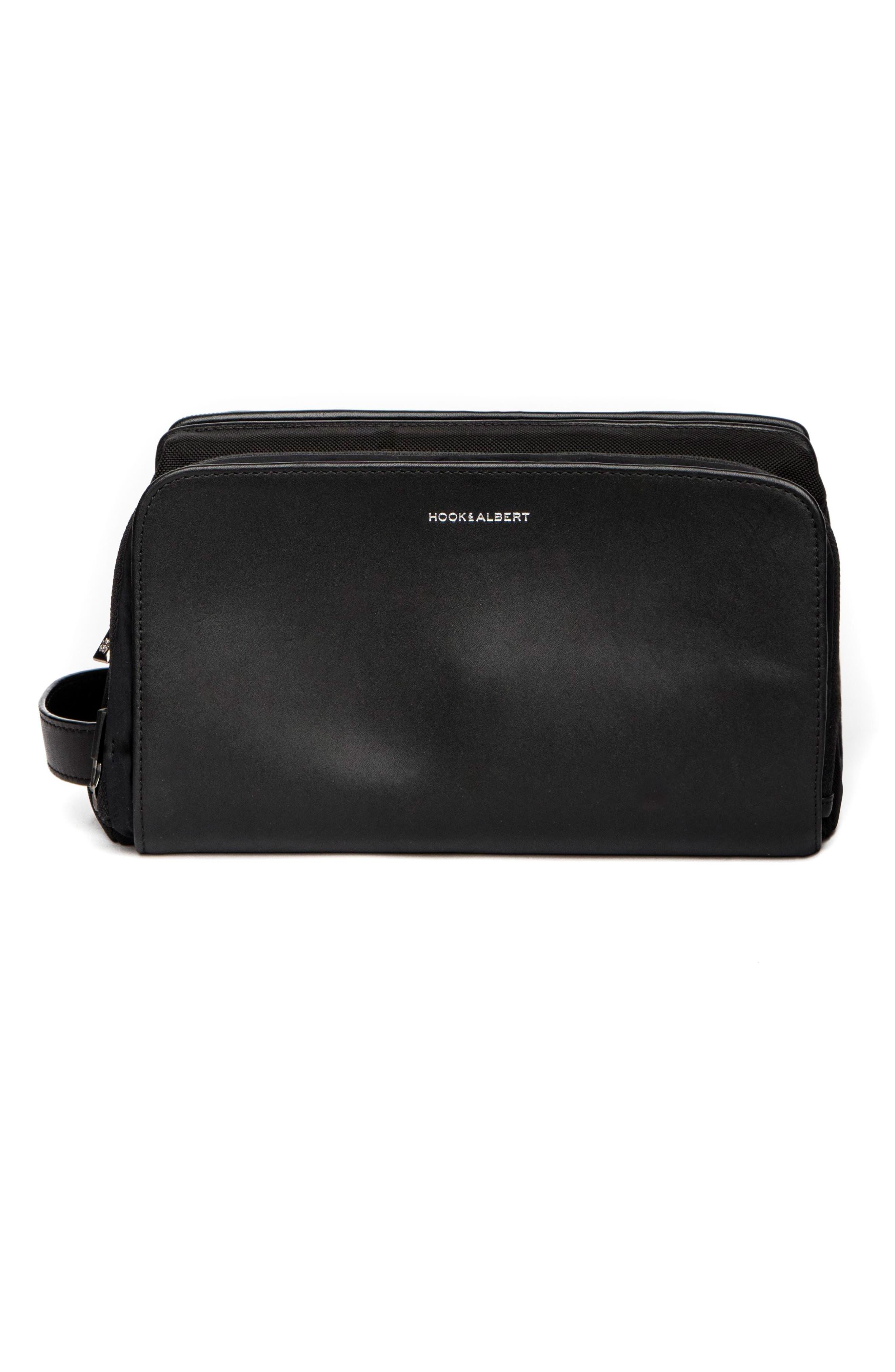 Main Image - hook + ALBERT Leather Travel Kit