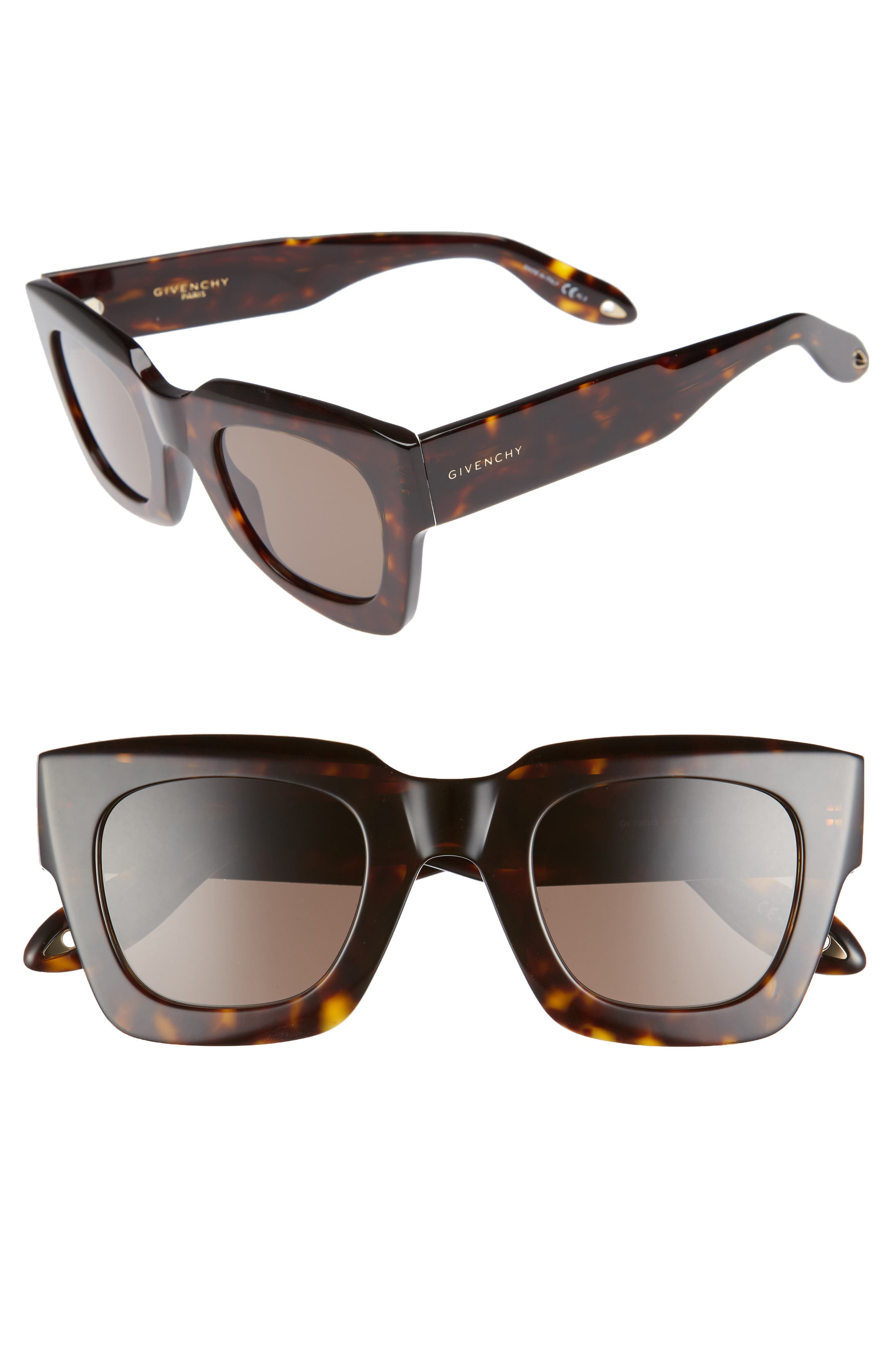 Main Image - Givenchy 48mm Square Sunglasses