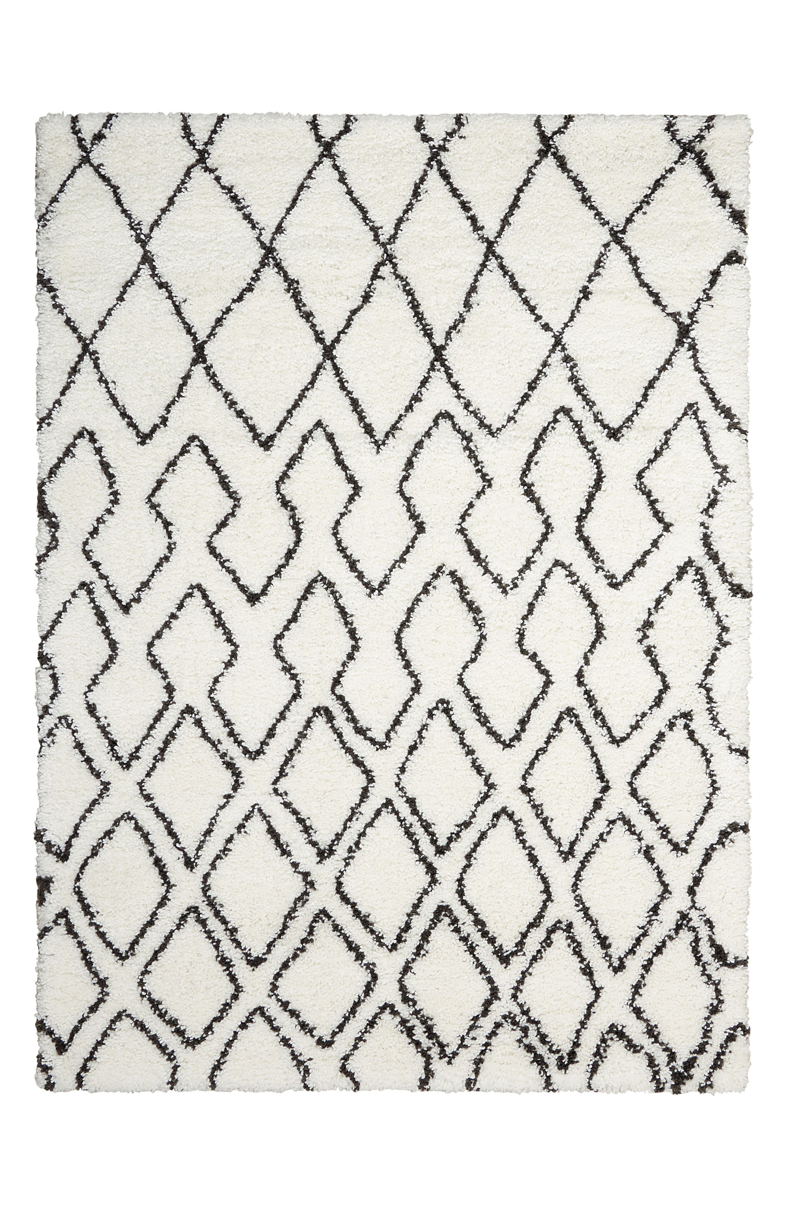 Alternate Image 1 Selected - Calvin Klein Riad Shag Area Rug