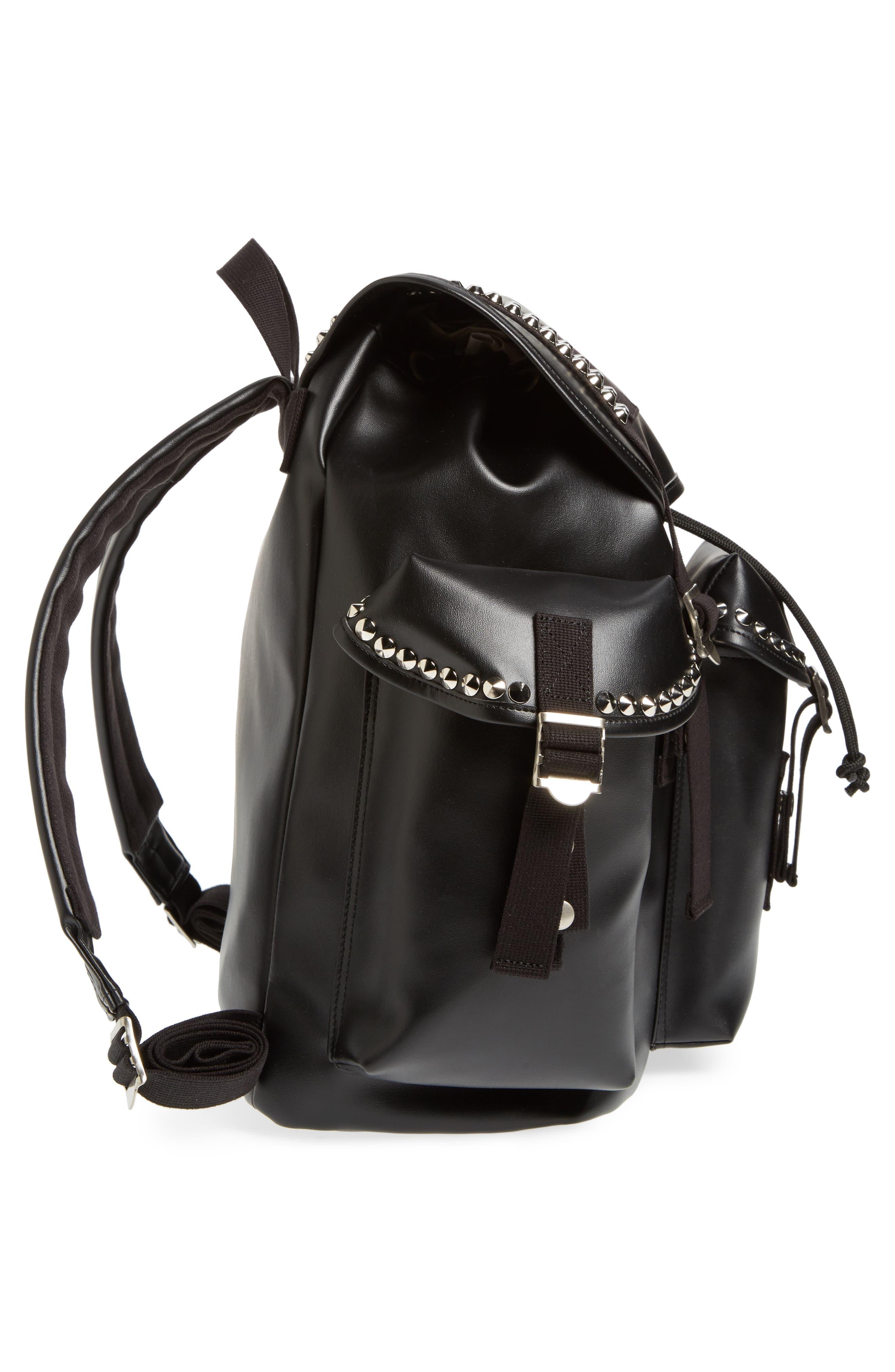 Alternate Image 5  - Junya Watanabe Studded Faux Leather Backpack