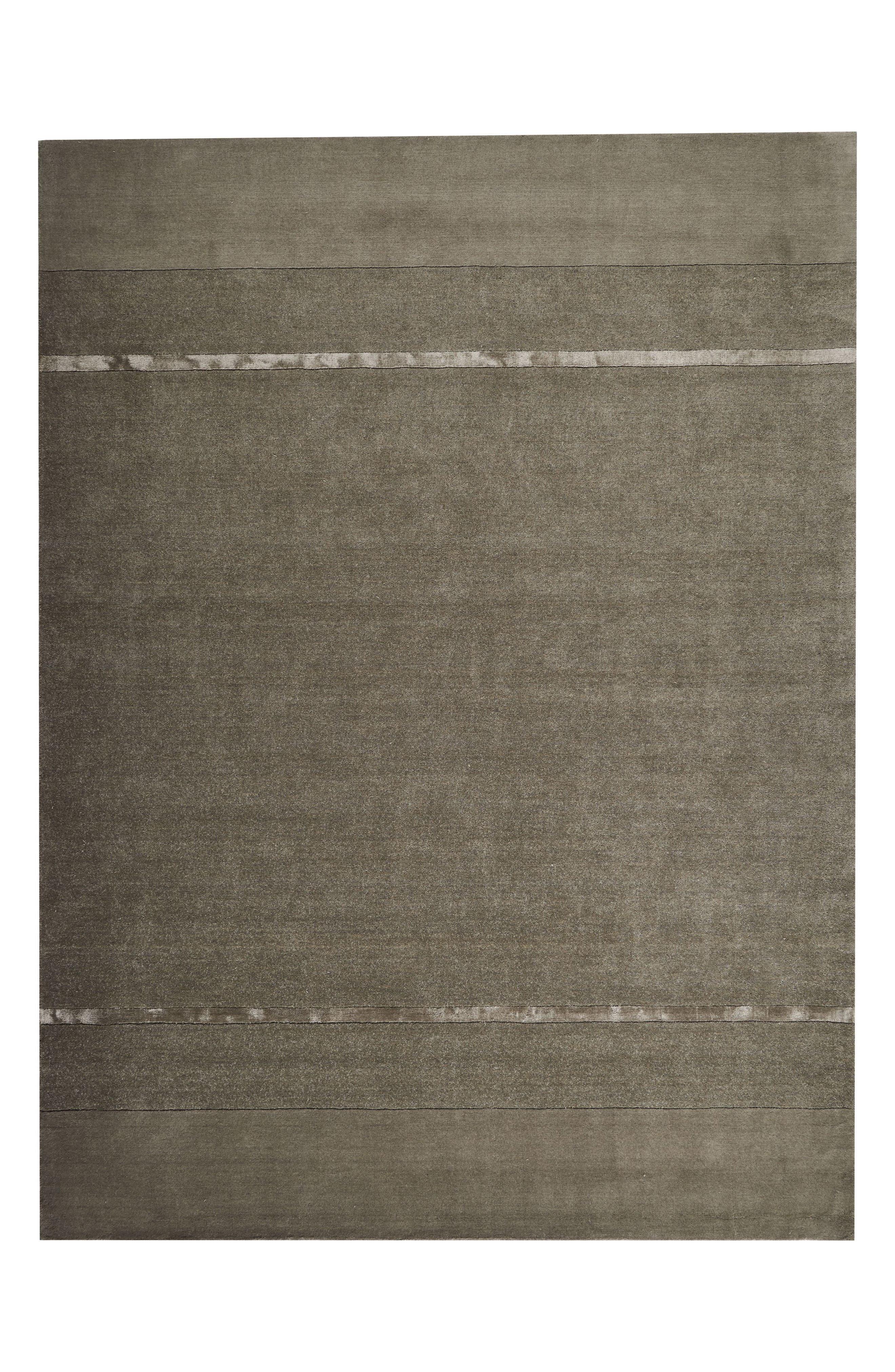 Alternate Image 1 Selected - Calvin Klein Vale Handwoven Area Rug