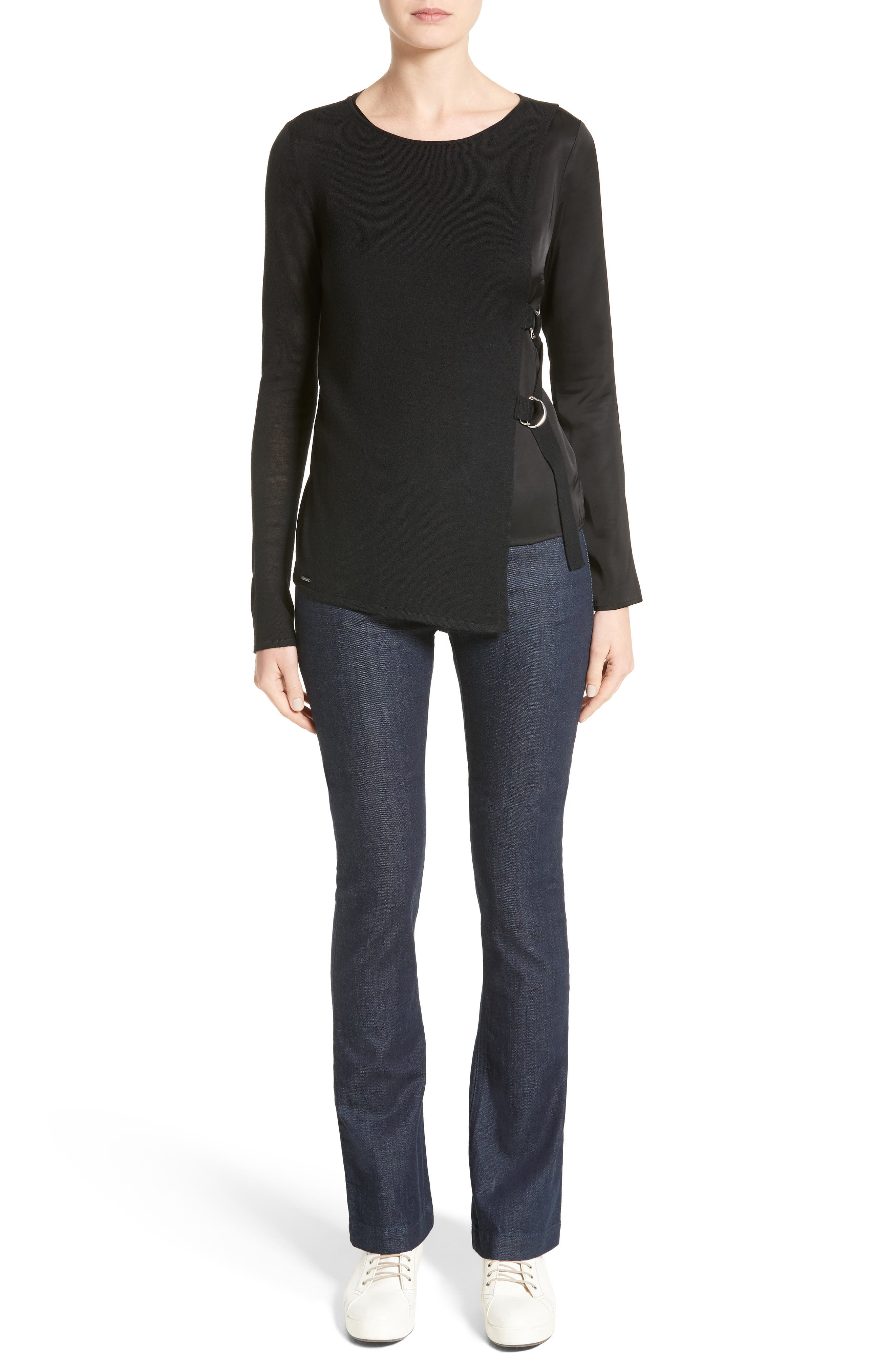 Alternate Image 7  - Armani Jeans D-Ring Wool Blend Sweater