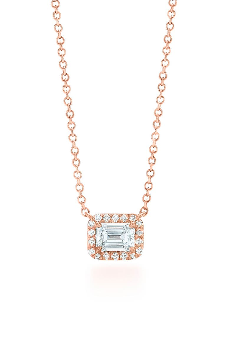 halo diamond emerald cut products pendant aq aquamarine fifth bond necklace and a