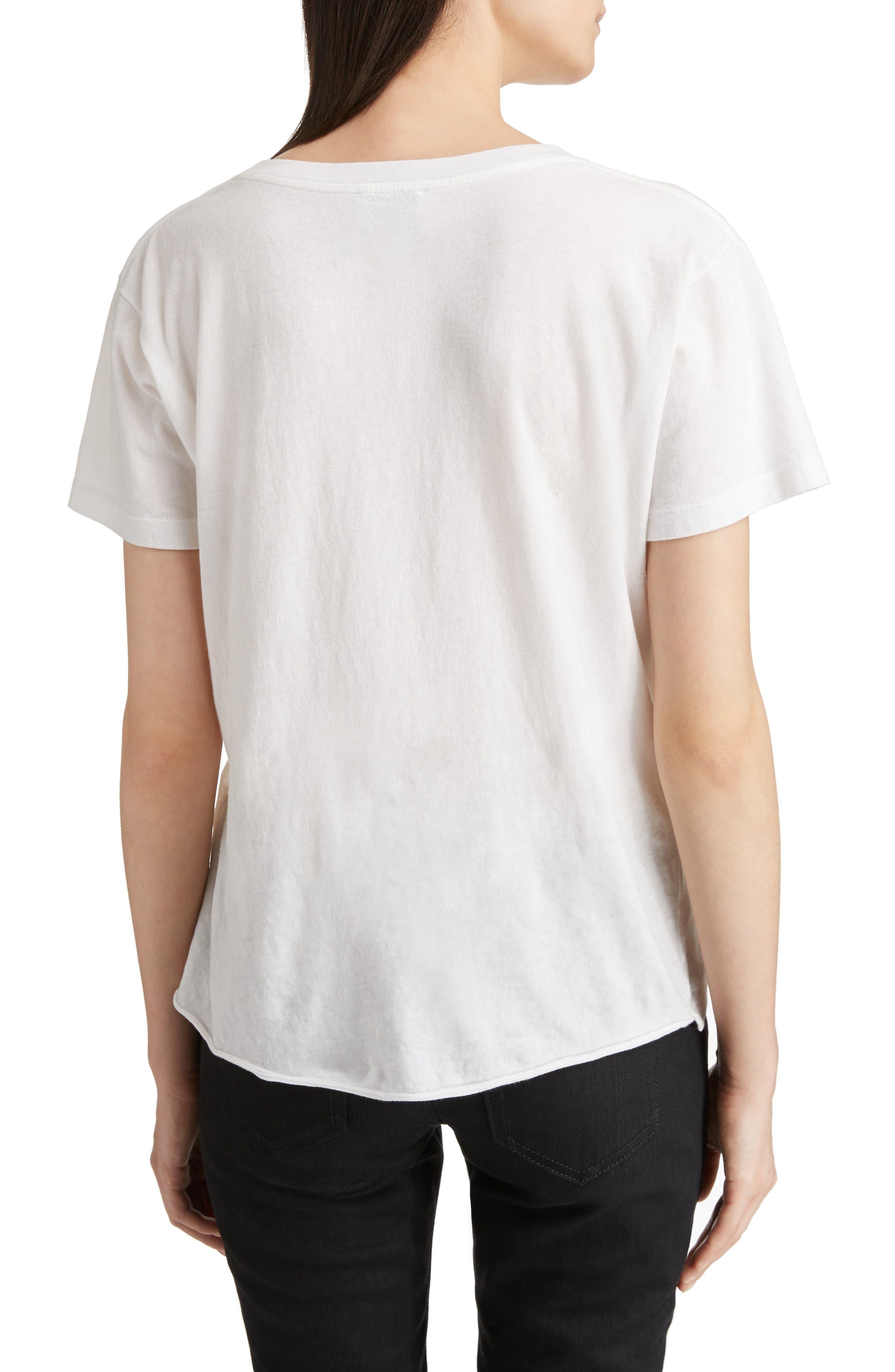 Alternate Image 2  - Saint Laurent S & L Logo Print Tee