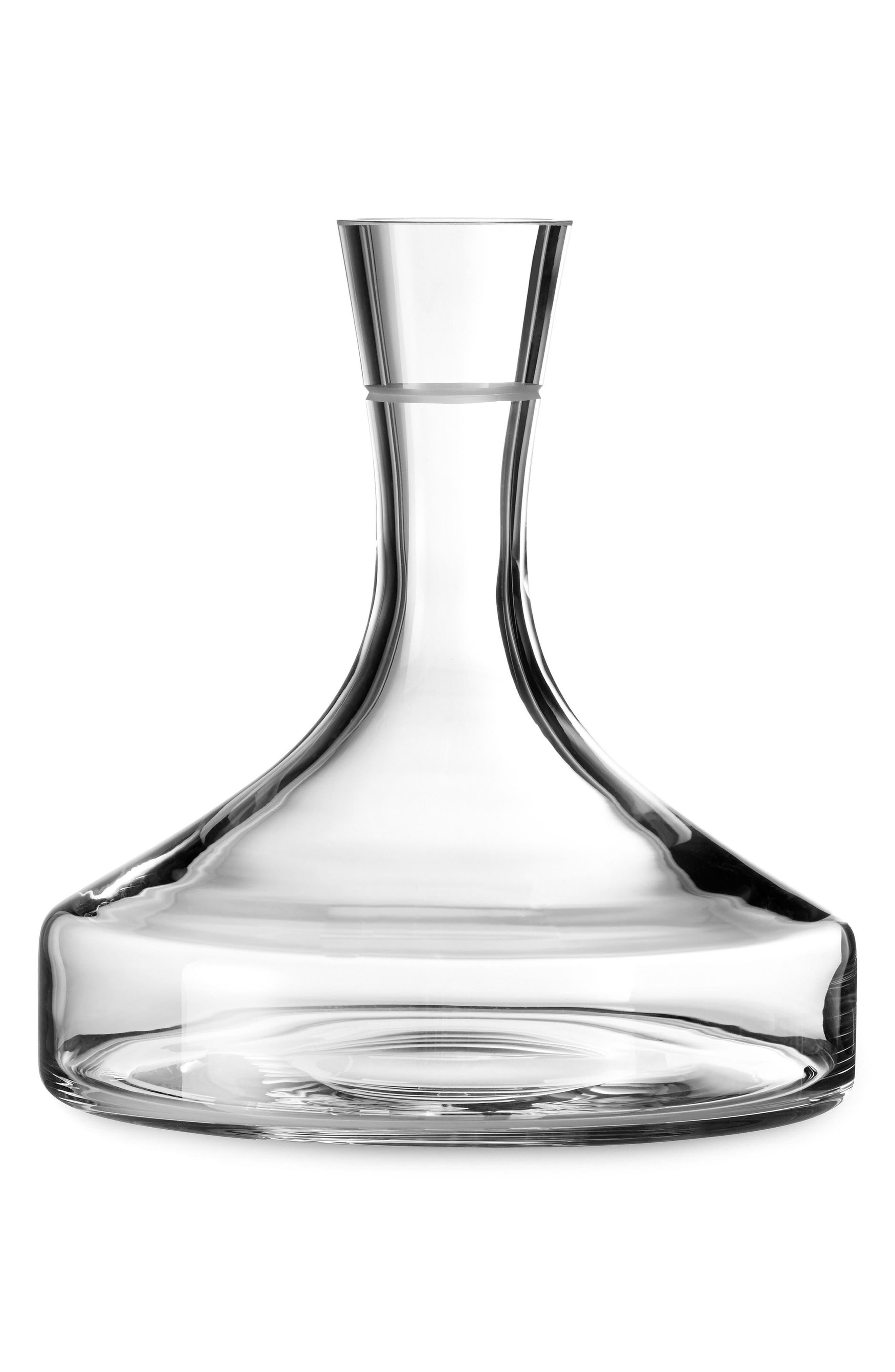 Main Image - Vera Wang x Wedgwood Bande Crystal Wine Carafe