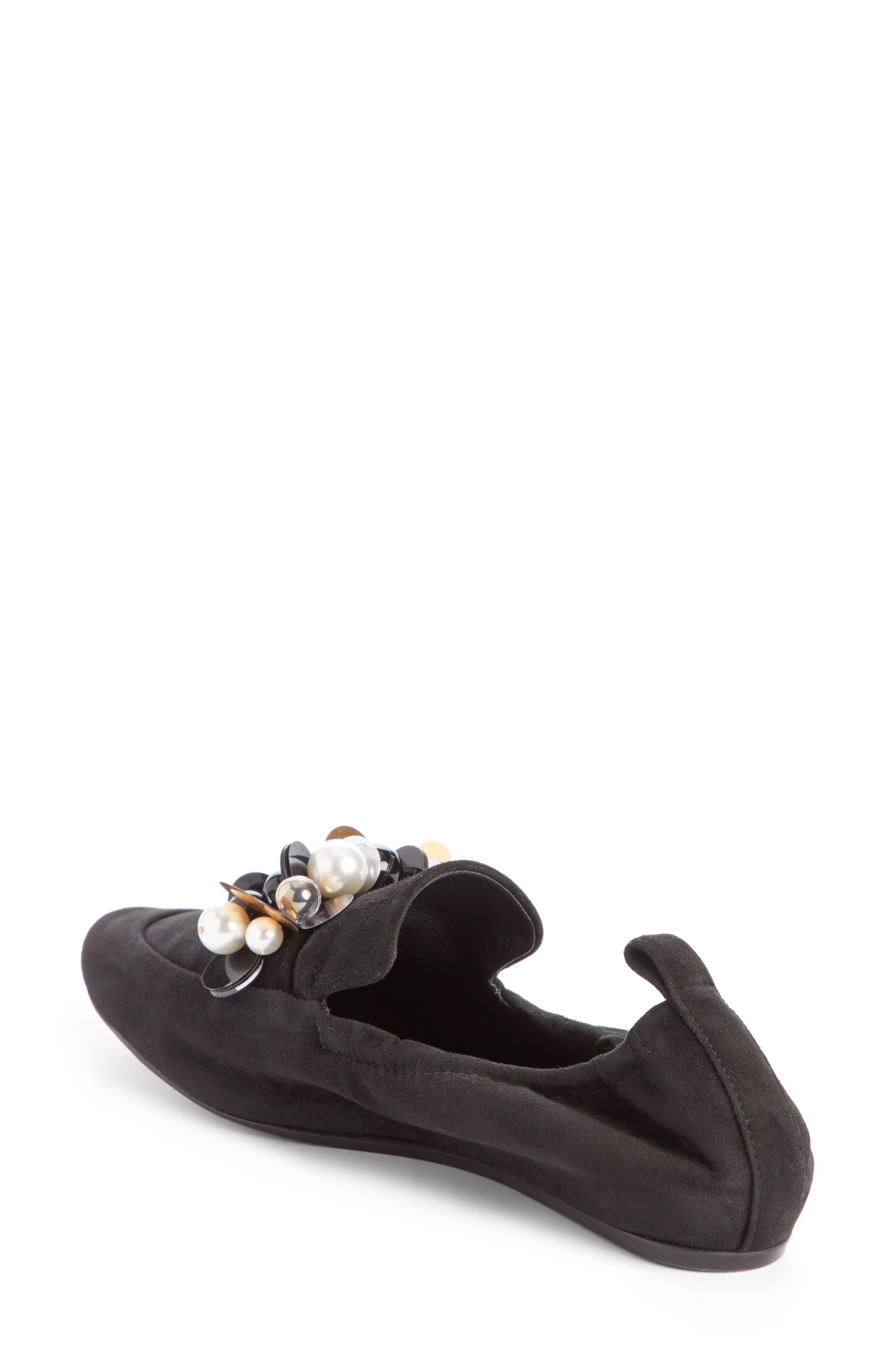 Alternate Image 2  - Lanvin Pearl Slipper Loafer (Women)