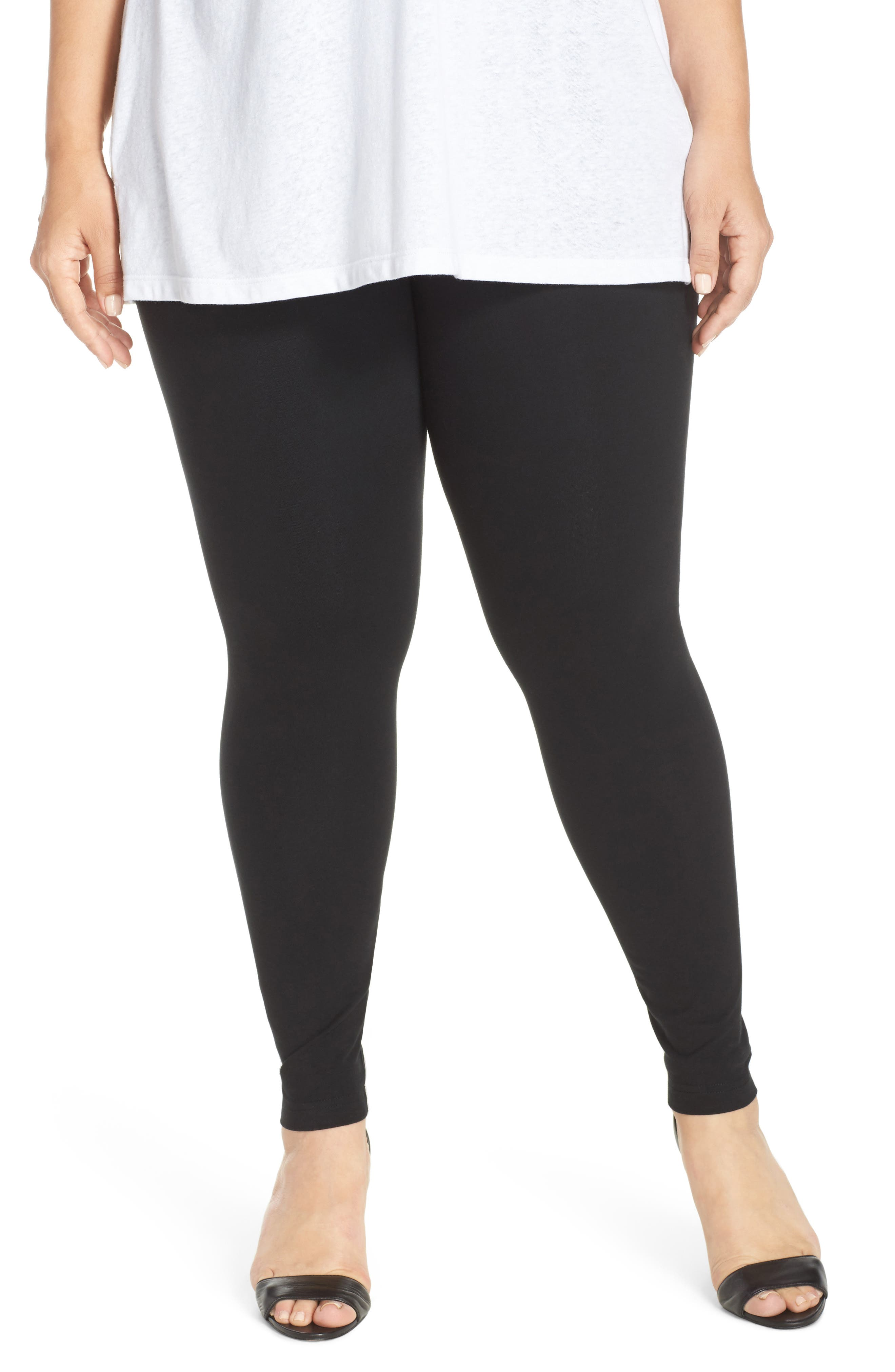 Control Top Leggings,                             Main thumbnail 1, color,                             Black