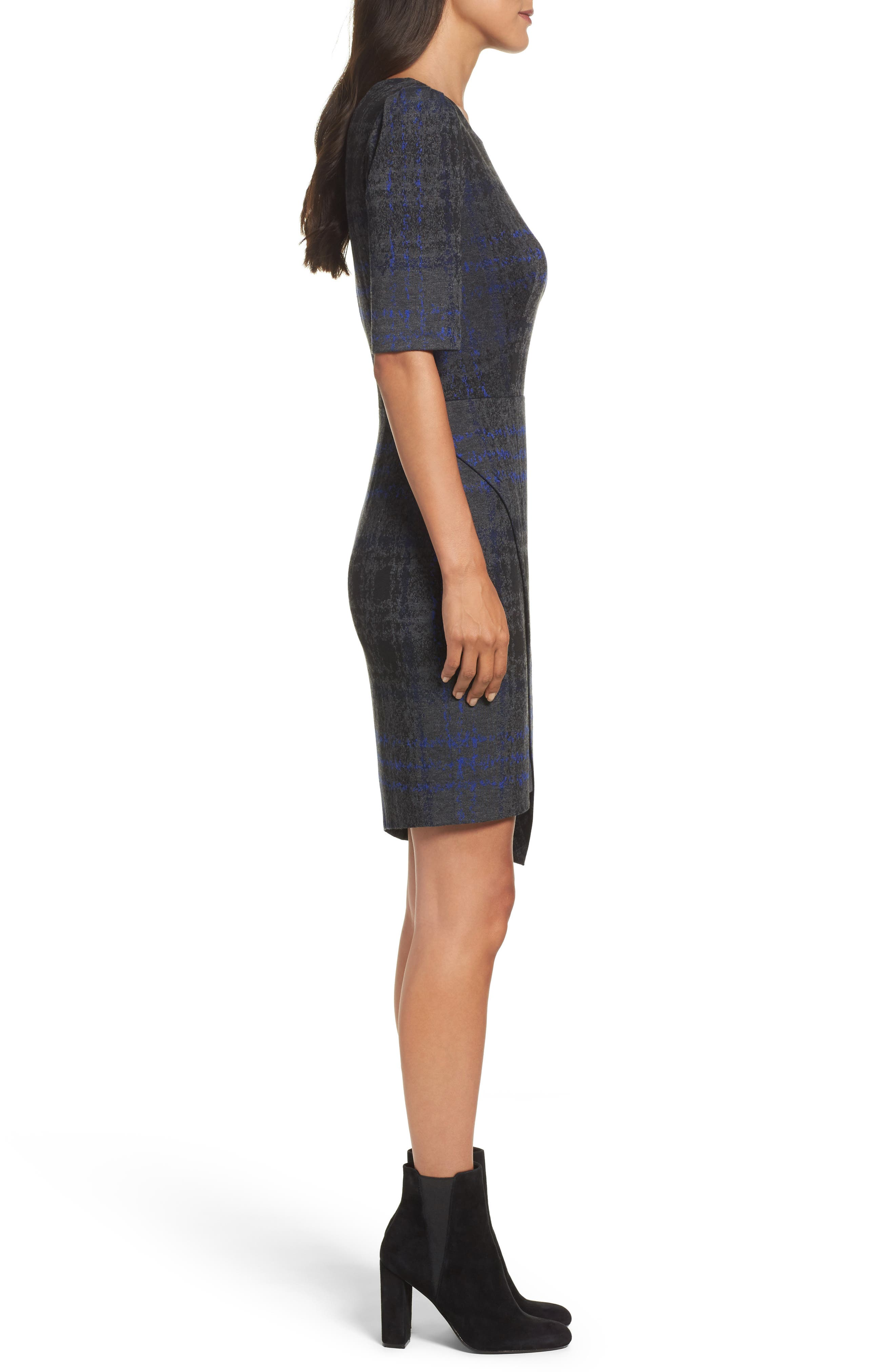 Alternate Image 4  - Betsey Johnson Asymmetrical Dress