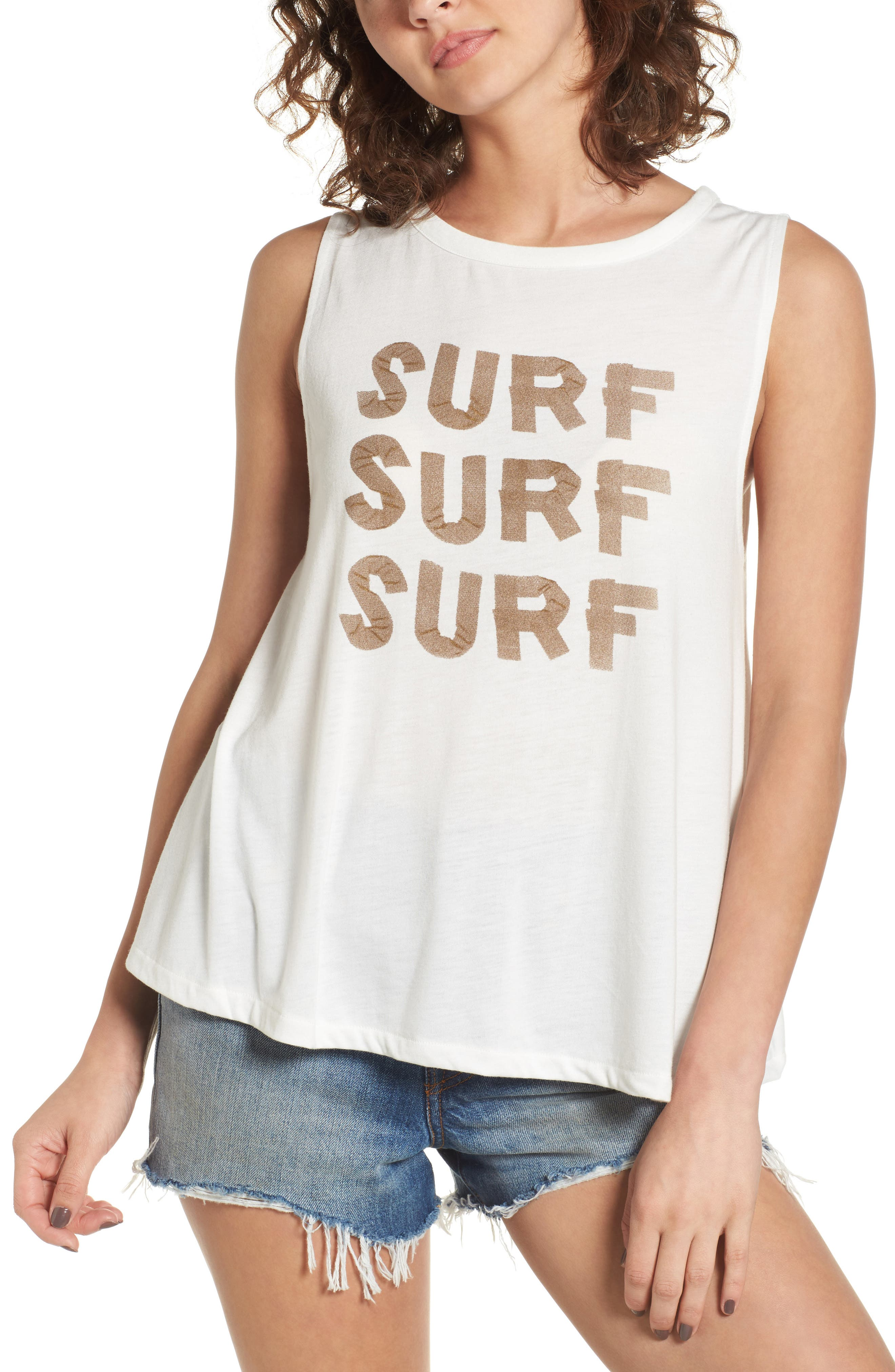 Roxy Surf Graphic Muscle Tank