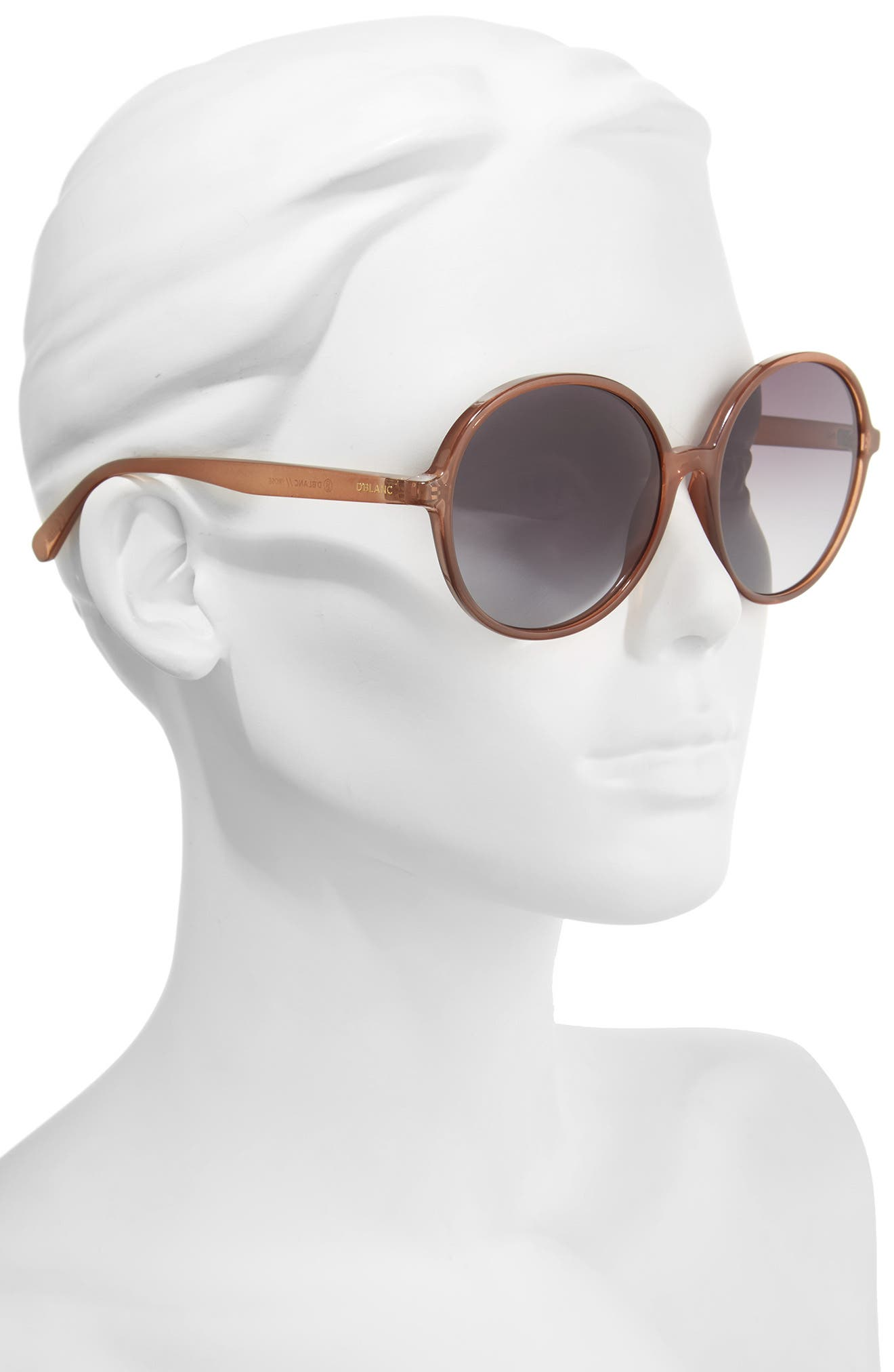Alternate Image 2  - D'BLANC Prose 59mm Round Sunglasses