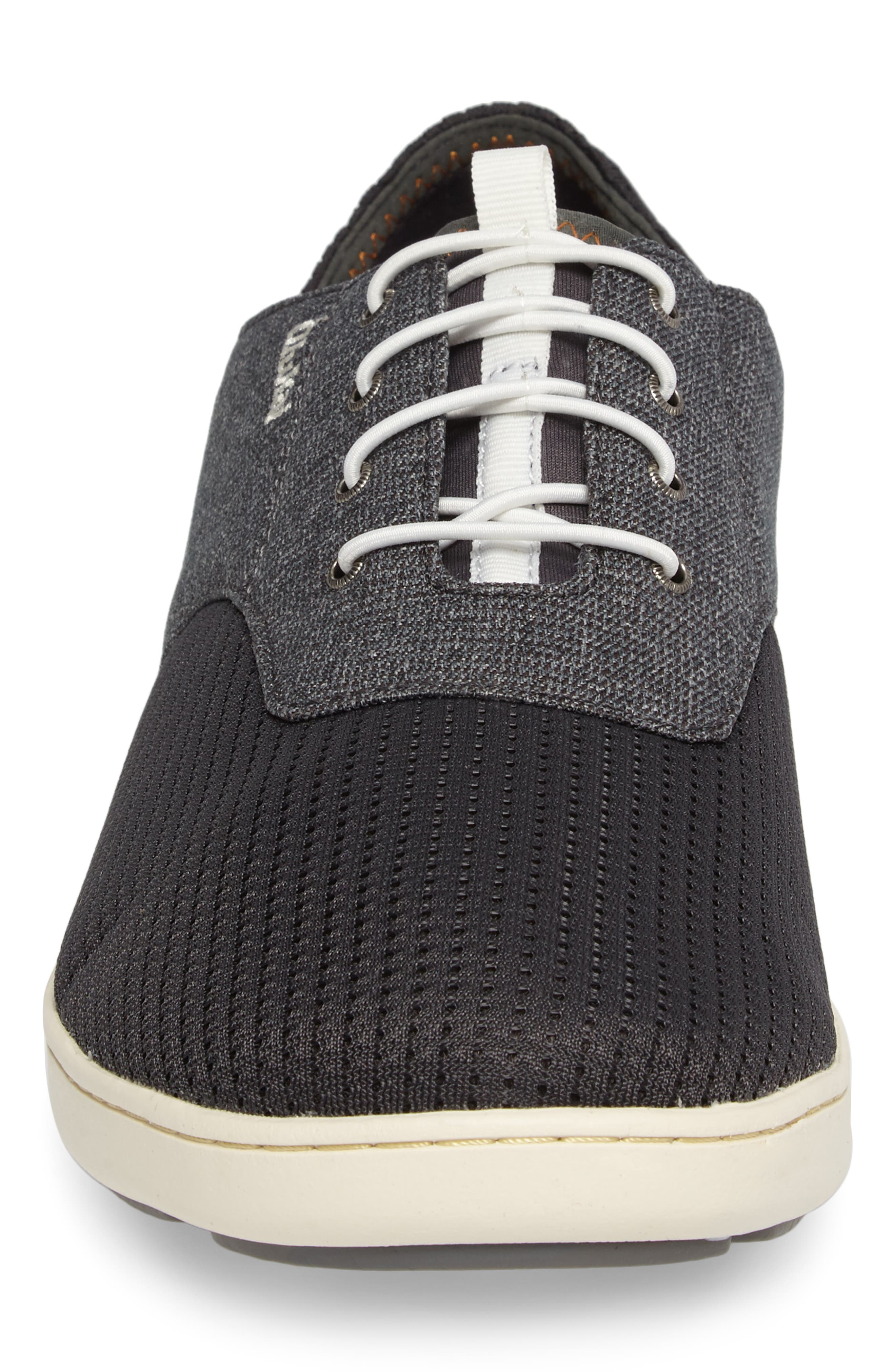 'Nohea Moku' Sneaker,                             Alternate thumbnail 4, color,                             Dark Shadow/ Dark Shadow