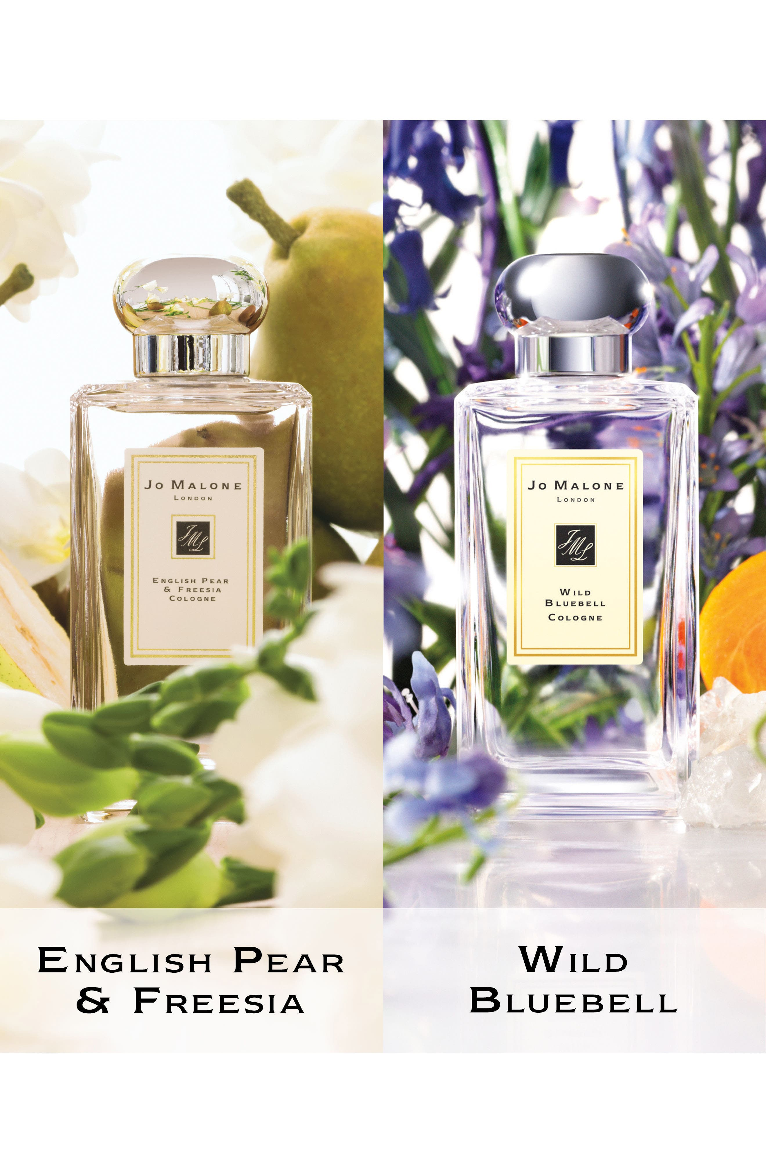 Jo Malone London™ Wild Bluebell & English Pear & Freesia