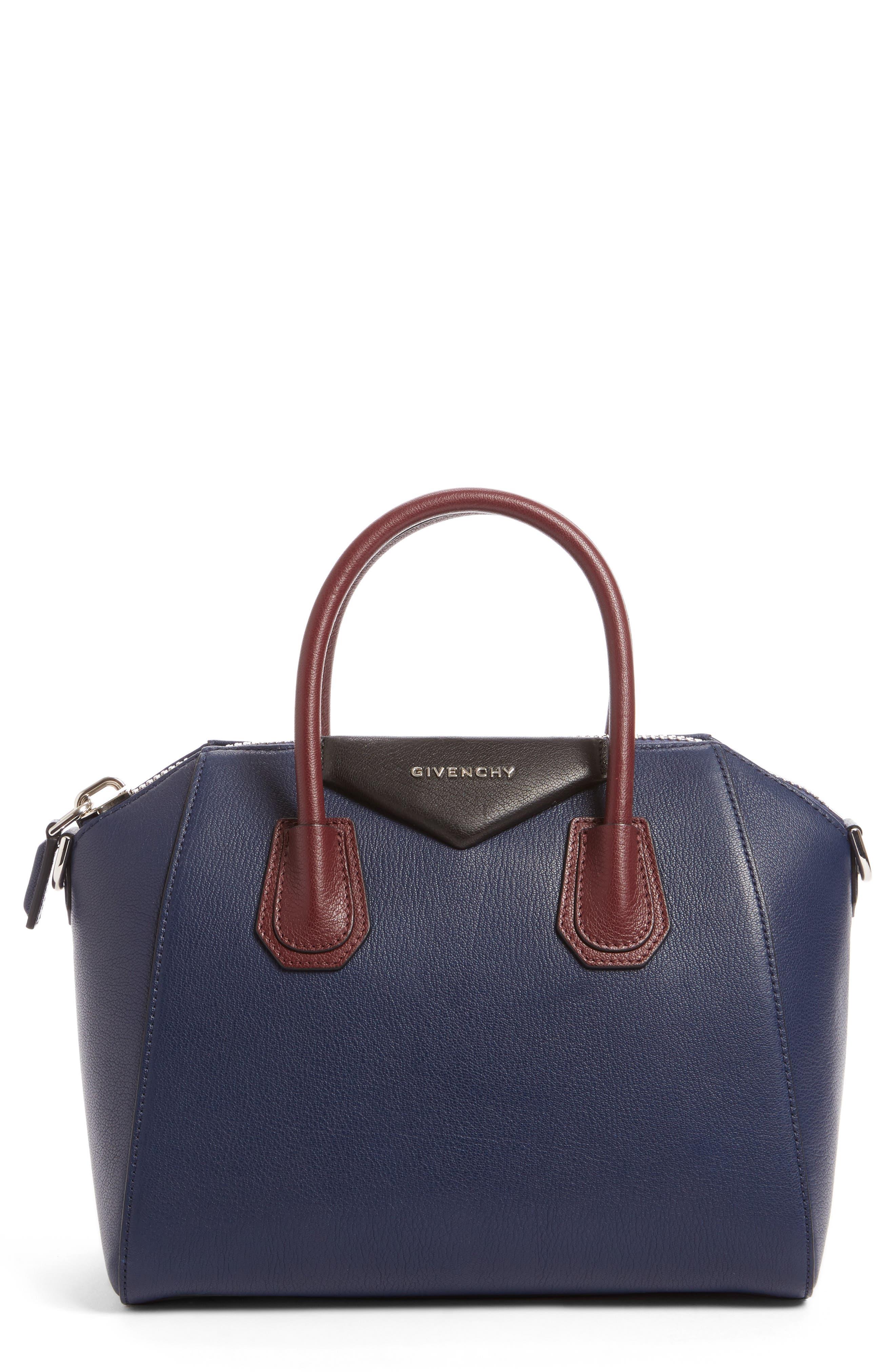 Main Image - Givenchy Small Antigona Leather Satchel