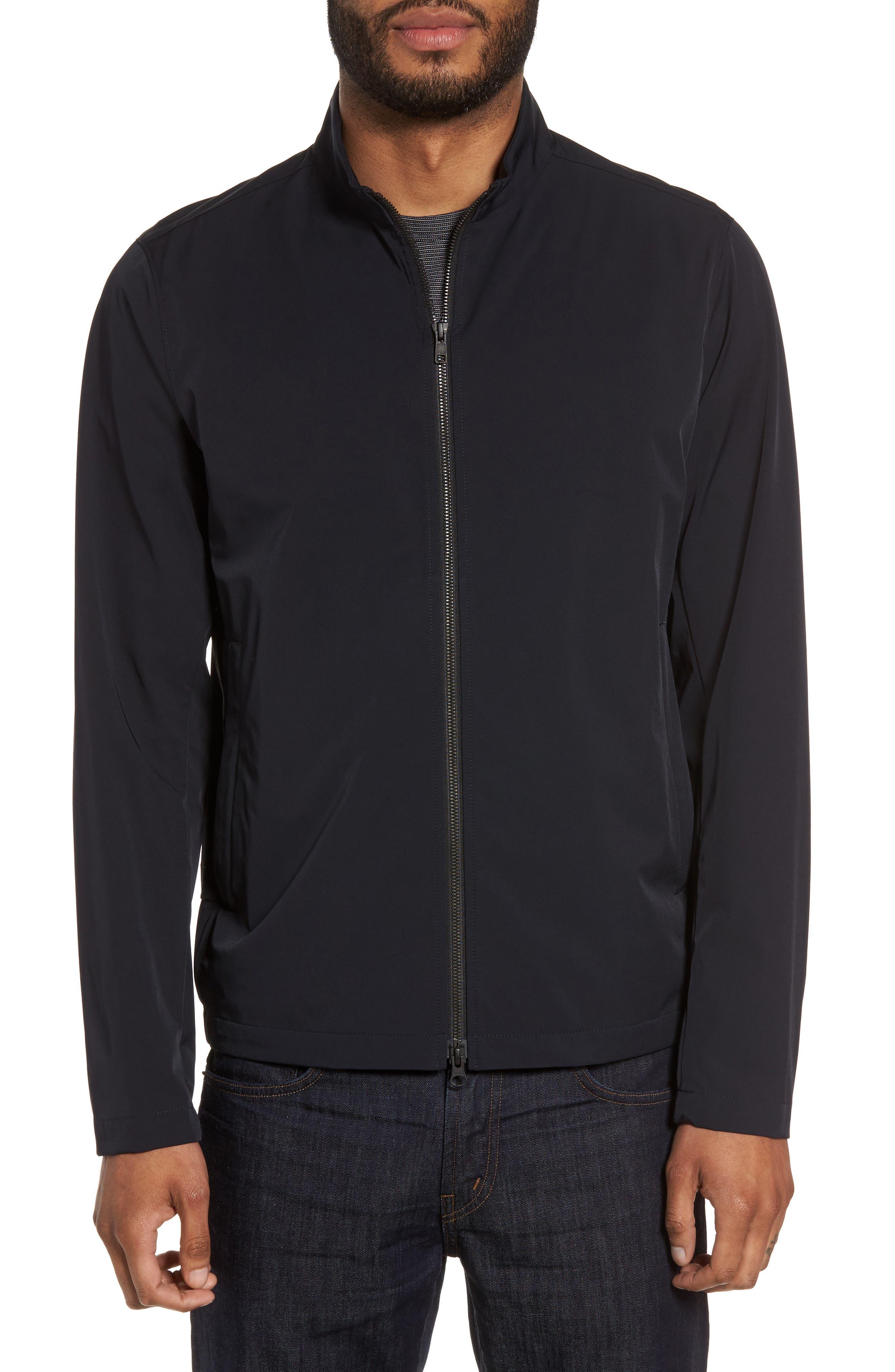 Scotty Bevan Zip Front Jacket,                         Main,                         color, Eclipse