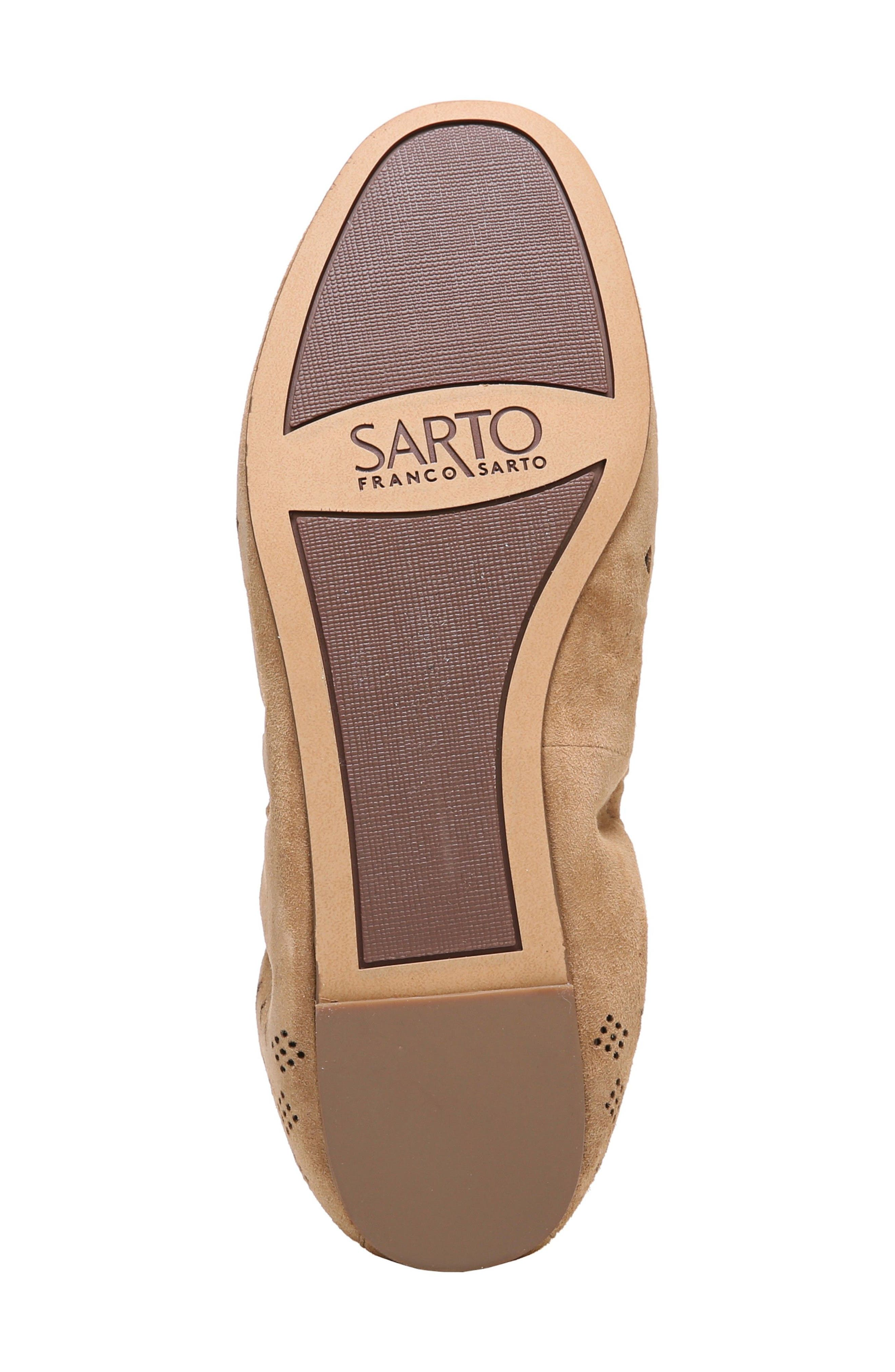 Alternate Image 6  - SARTO by Franco Sarto Brewer Perforated Ballet Flat (Women)