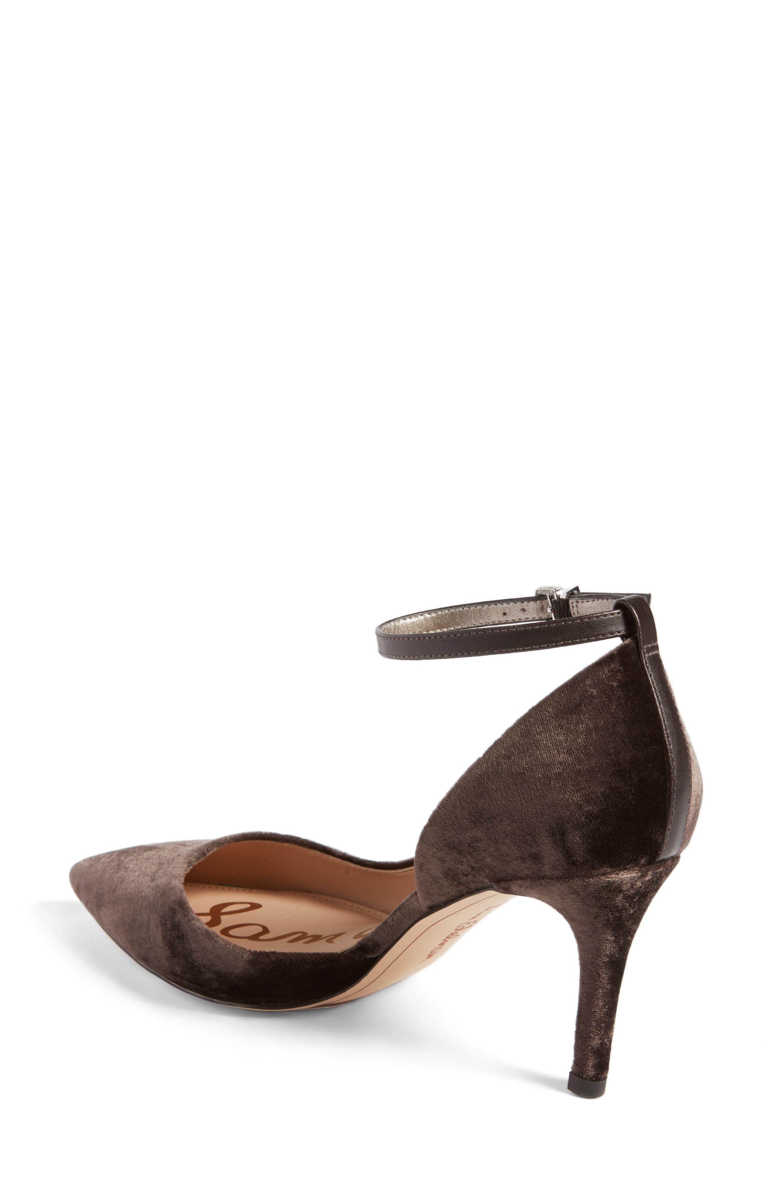 Alternate Image 2  - Sam Edelman Tia Ankle Strap Pump (Women)