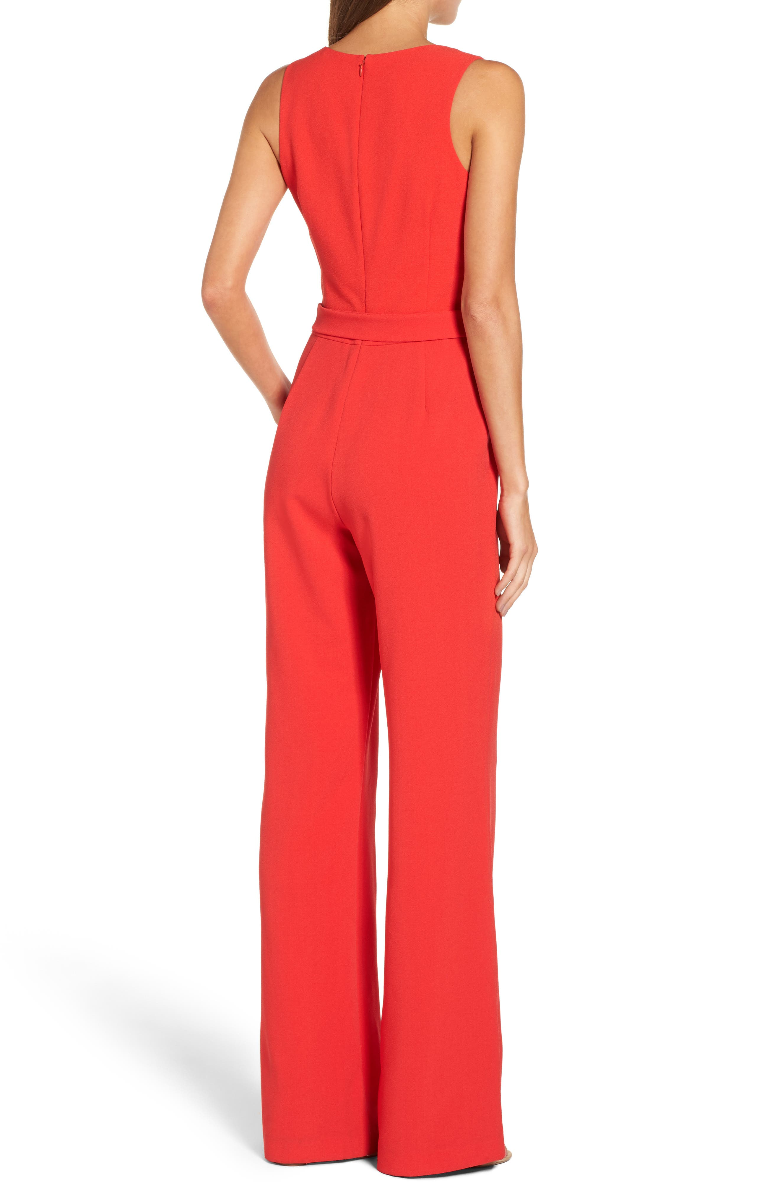 Alternate Image 3  - Vince Camuto Jumpsuit (Regular & Petite)