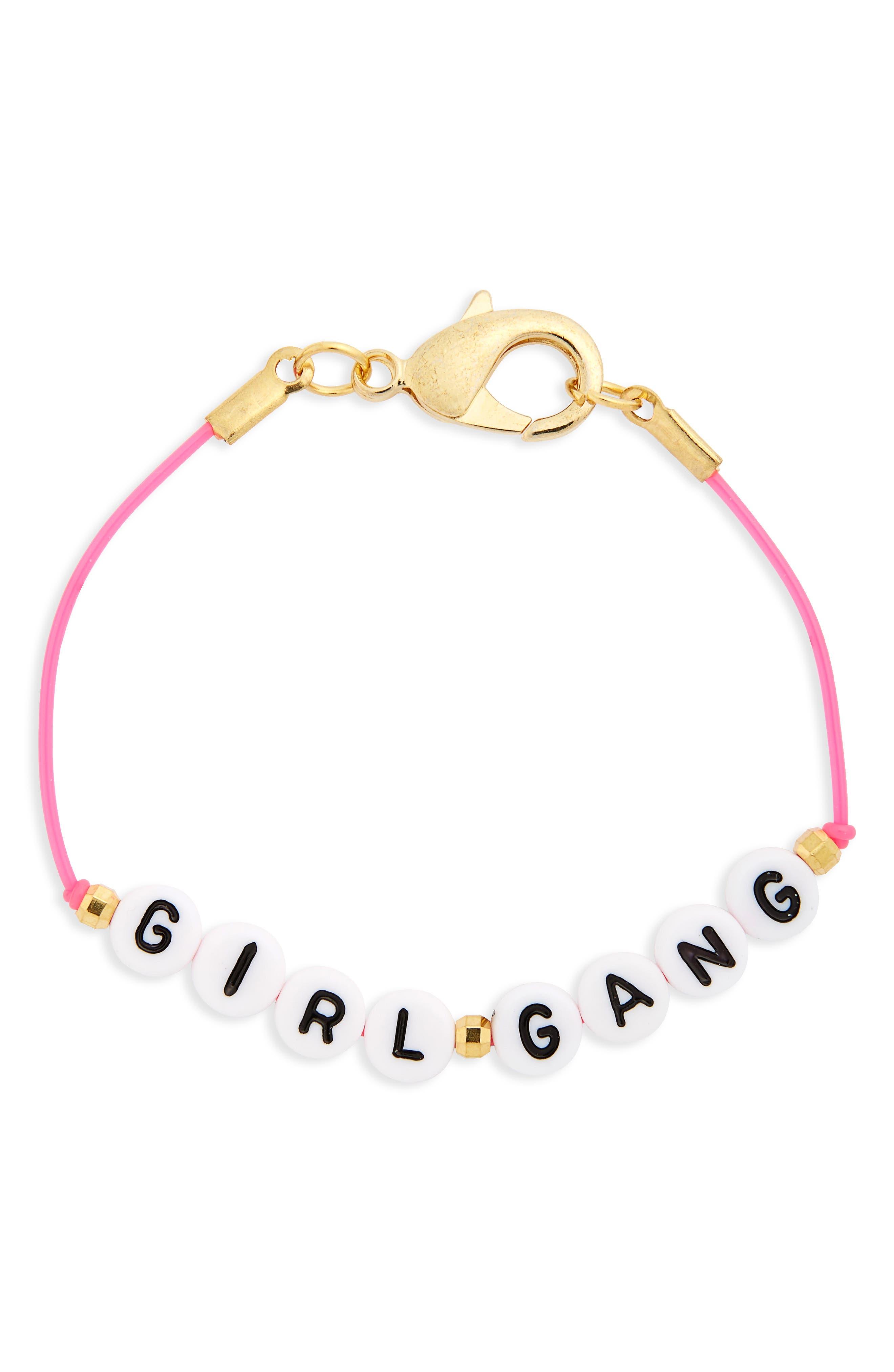 RYAN PORTER Girl Gang Cord Bracelet