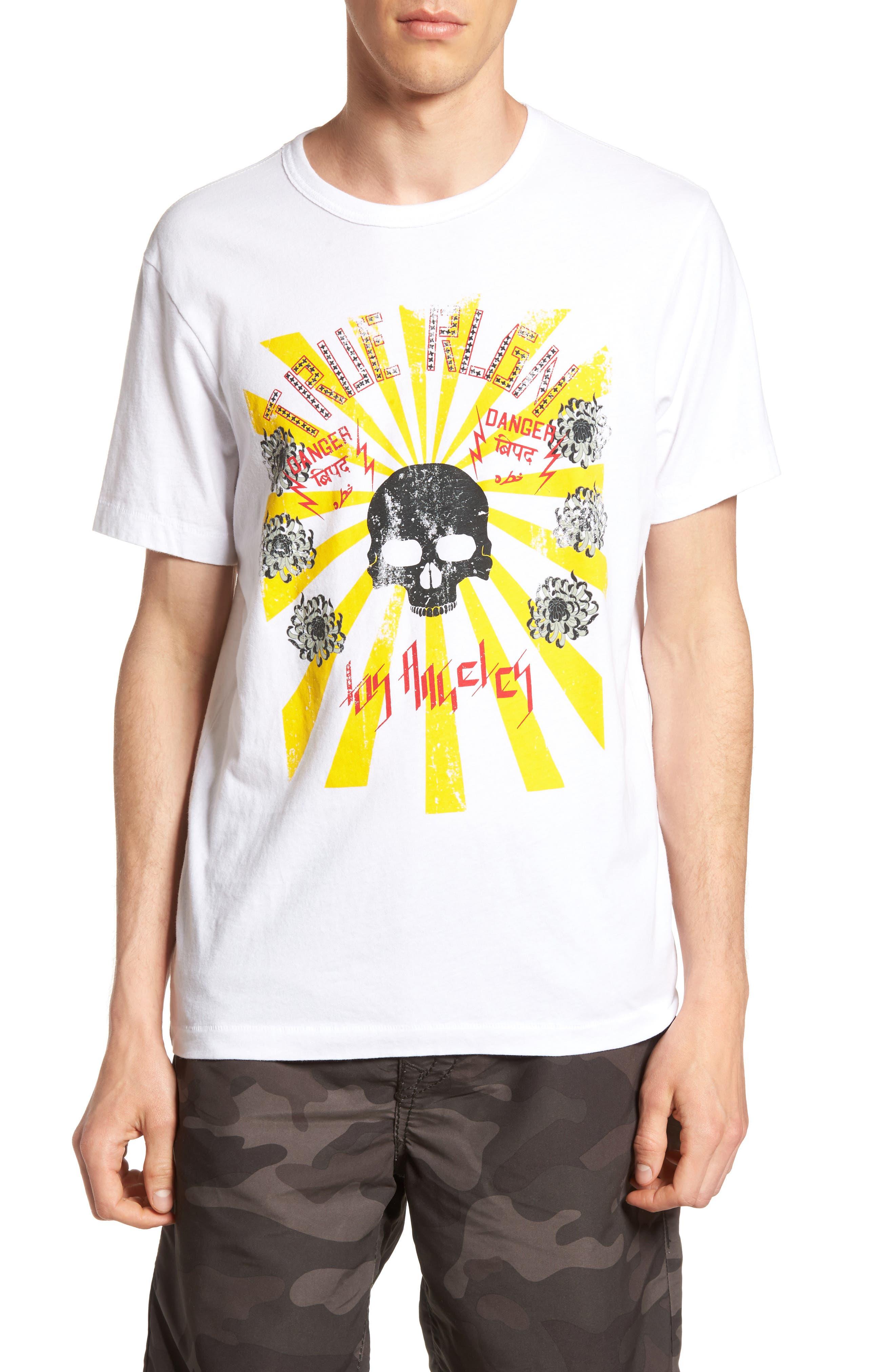 True Religion Brand Jeans Rising Sun Graphic T-Shirt