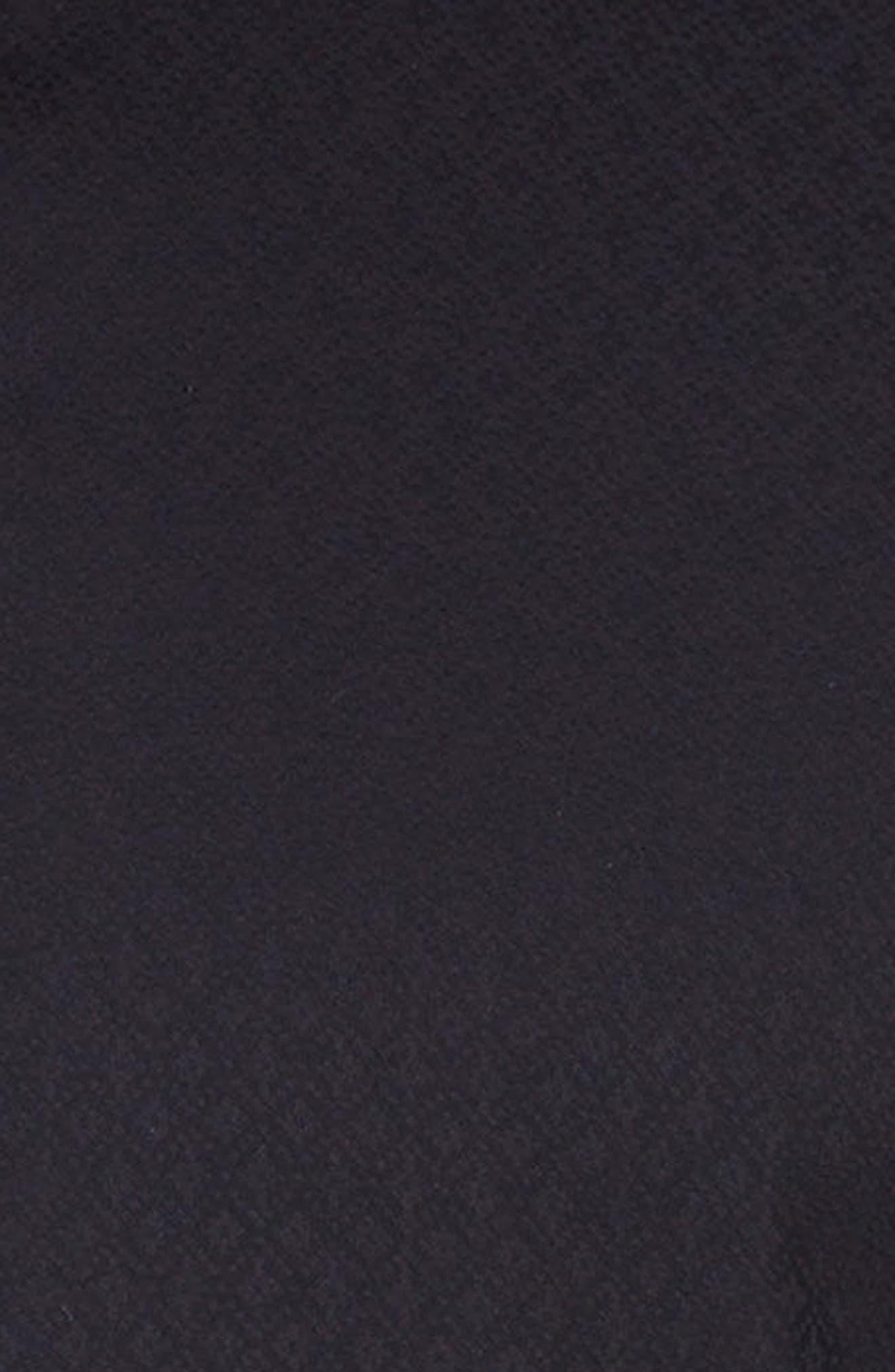 Classic Fit Sport Shirt,                             Alternate thumbnail 3, color,                             Black