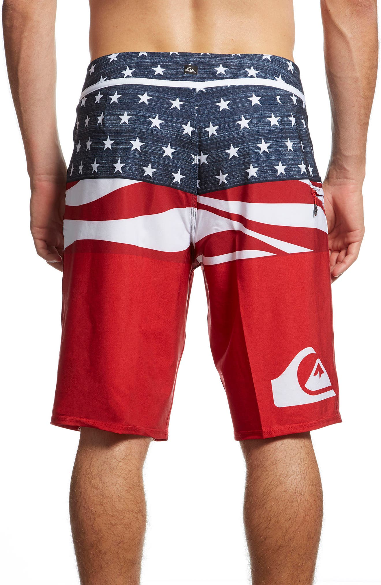 Alternate Image 2  - Quiksilver Everyday Blocked Board Shorts
