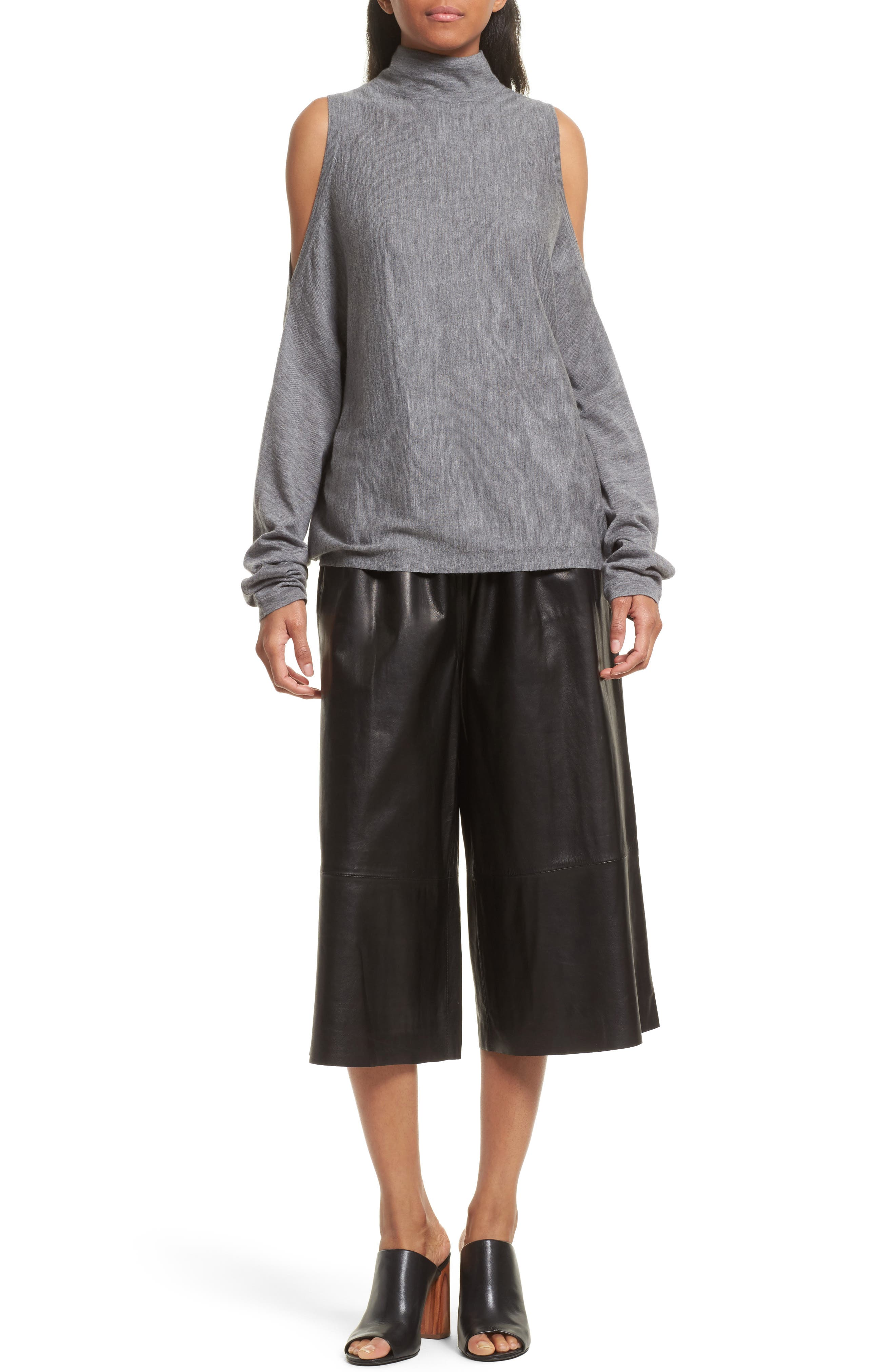 Alternate Image 2  - Robert Rodriguez Leather Gaucho Pants