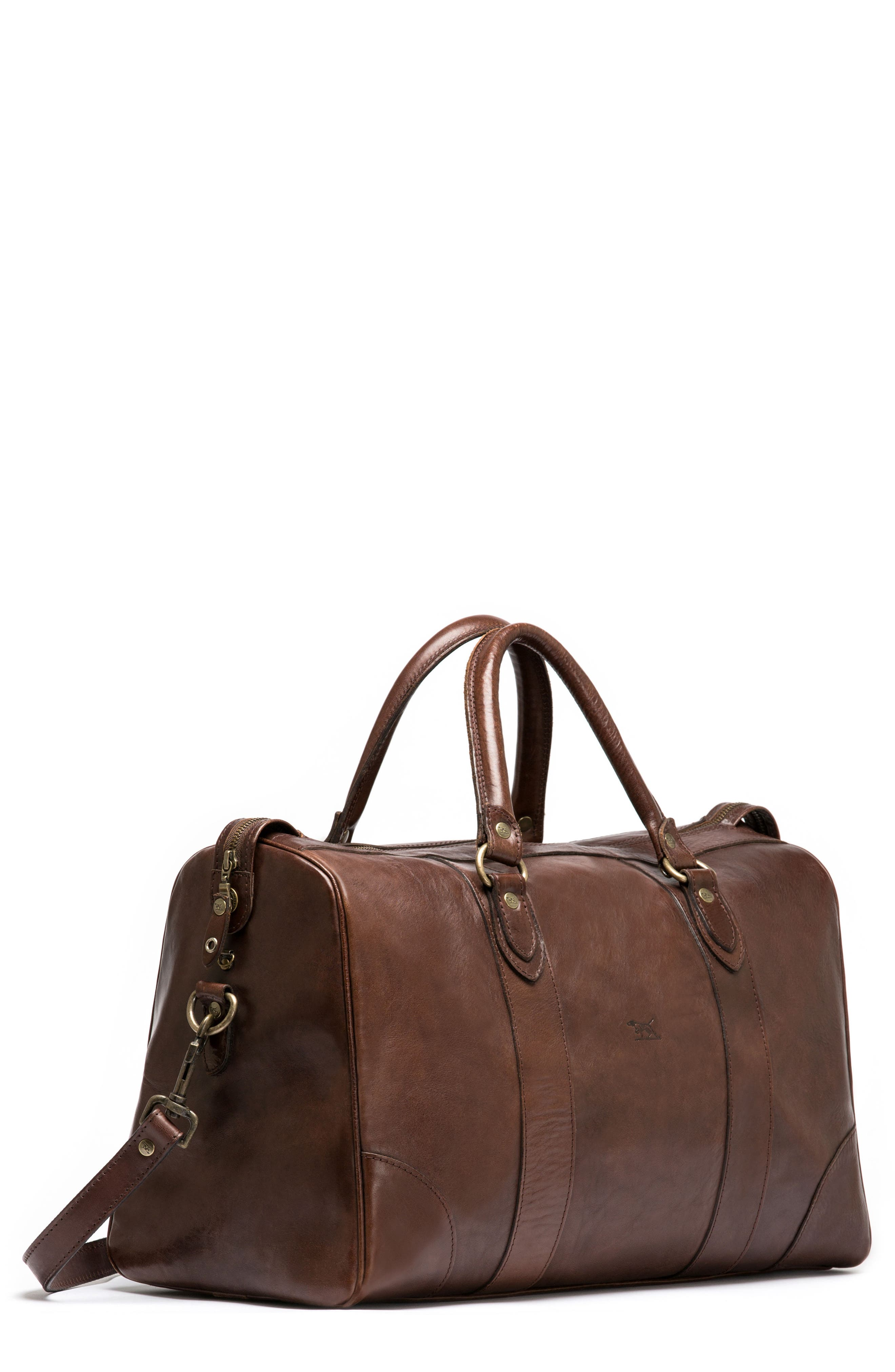 Normanby Duffel Bag,                             Alternate thumbnail 7, color,                             Cocoa