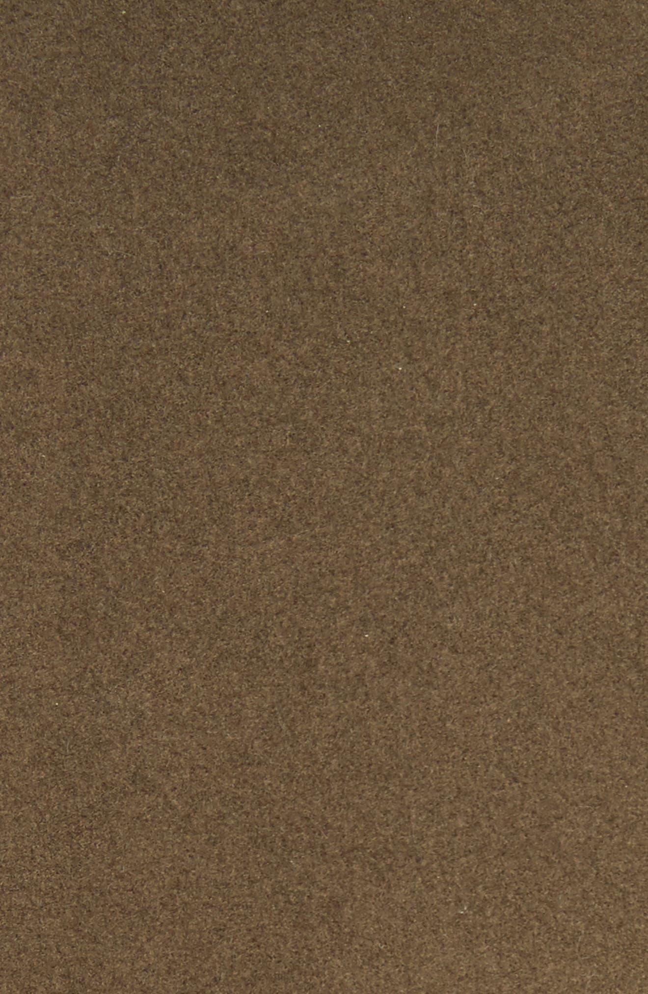 Duchess Wool Blend Coat,                             Alternate thumbnail 6, color,                             Olive