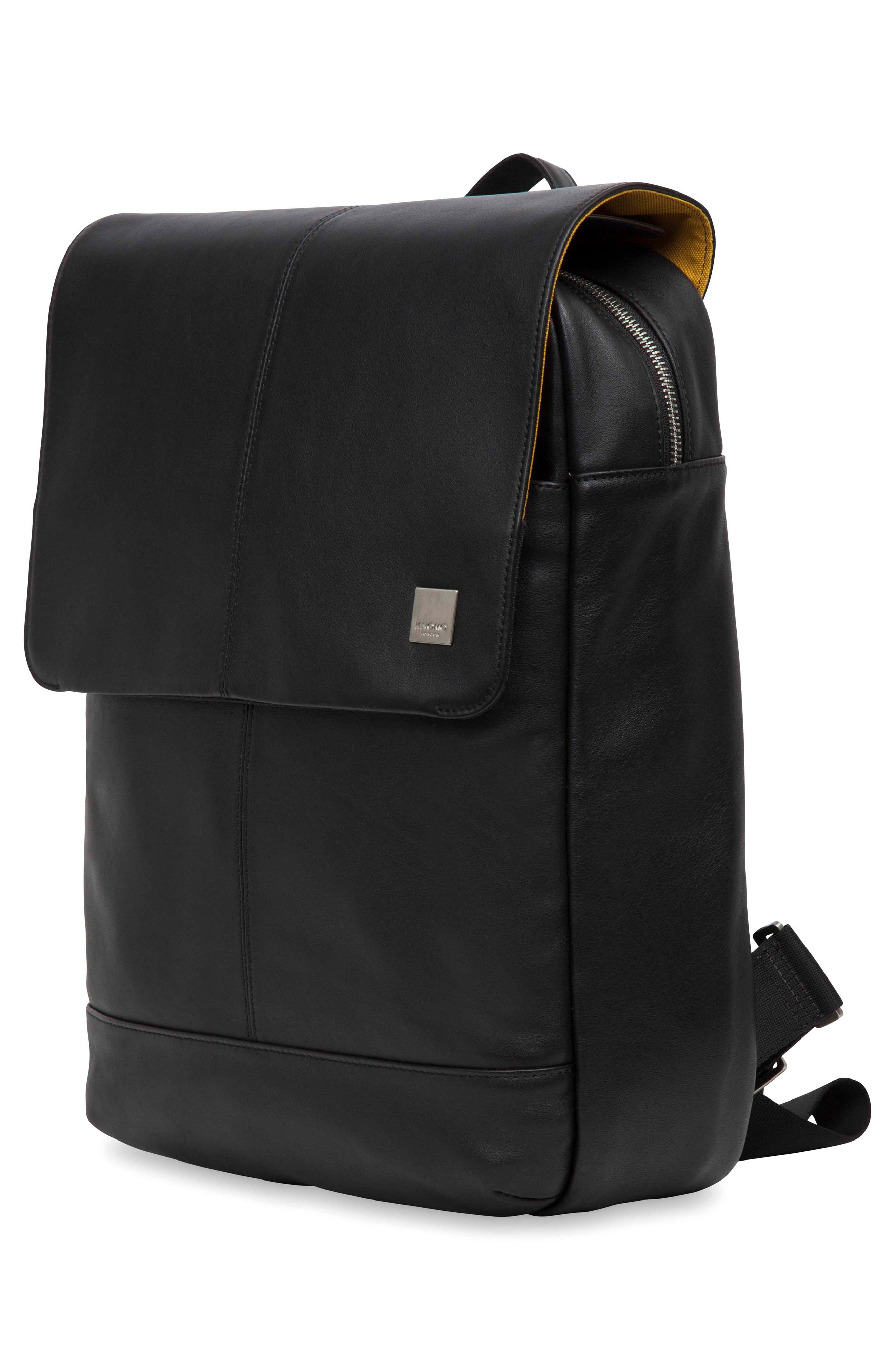 Alternate Image 8  - KNOMO London Brompton Hudson Leather Backpack