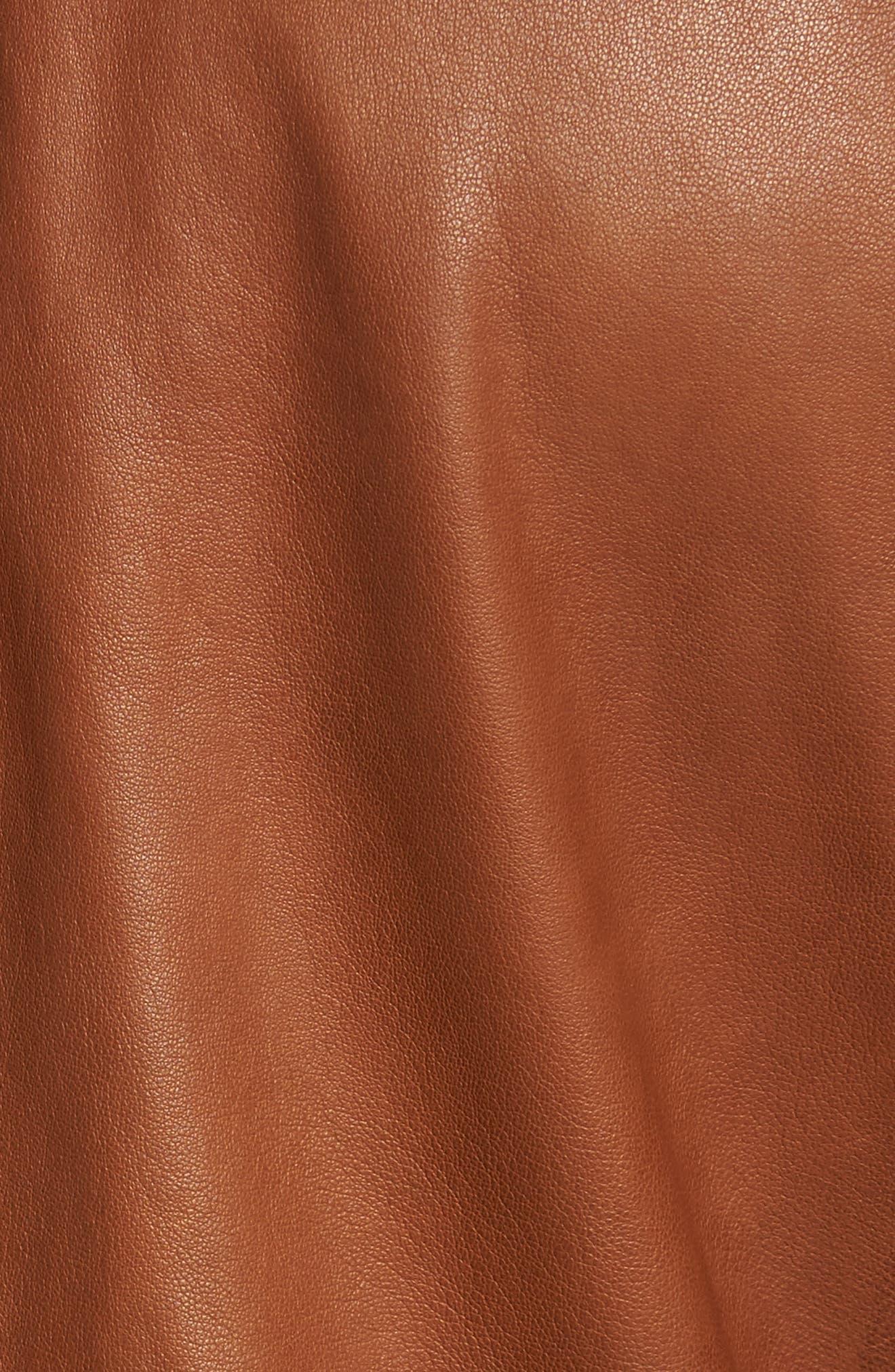 Alternate Image 6  - John Varvatos Star USA Leather Moto Jacket