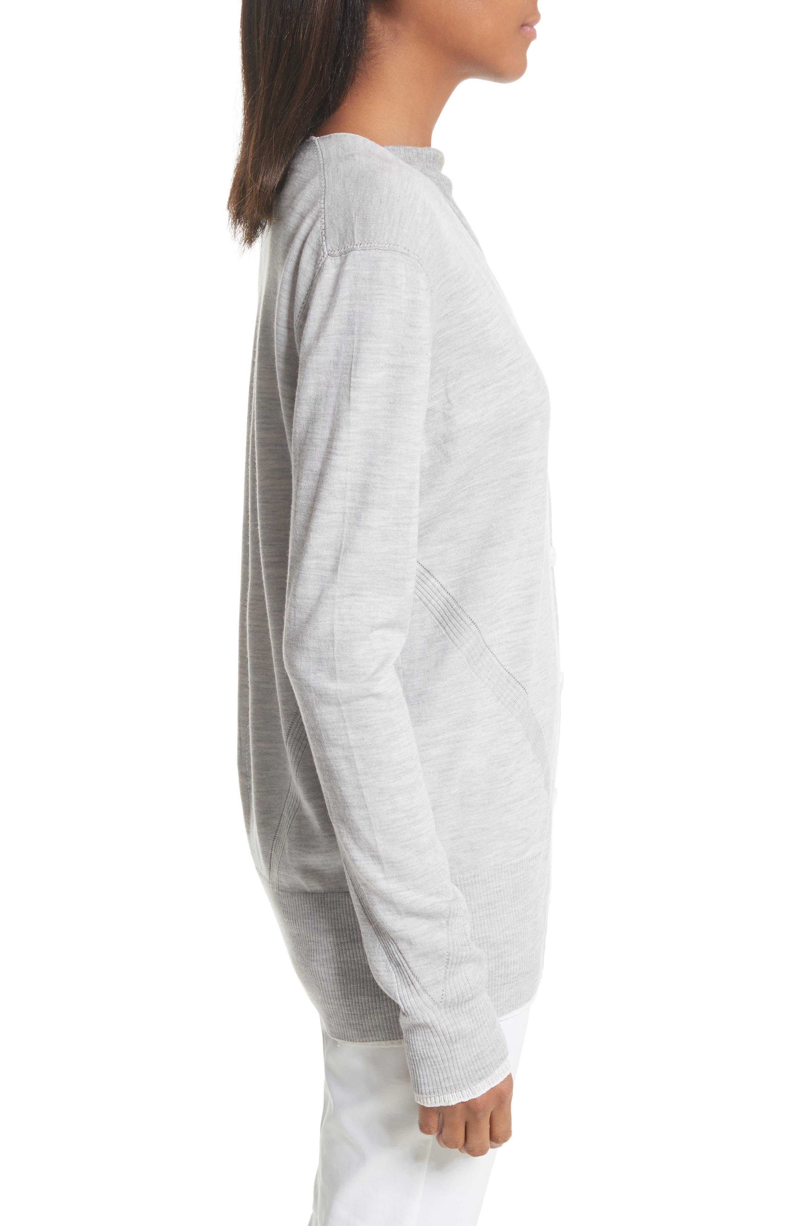 Alternate Image 3  - rag & bone Alyssa Merino Wool Cardigan