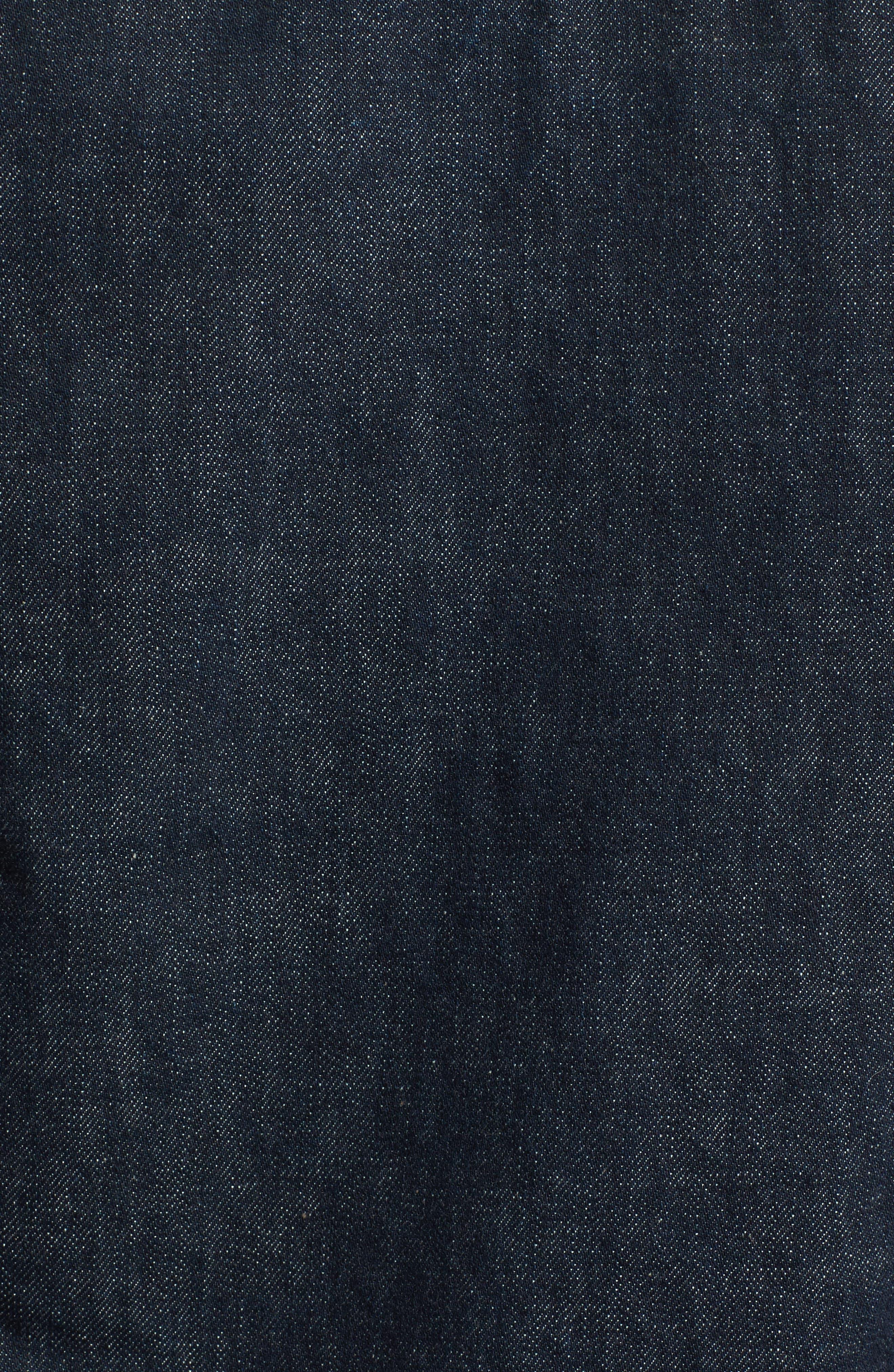 Denim Shirt Jacket,                             Alternate thumbnail 5, color,                             Indigo