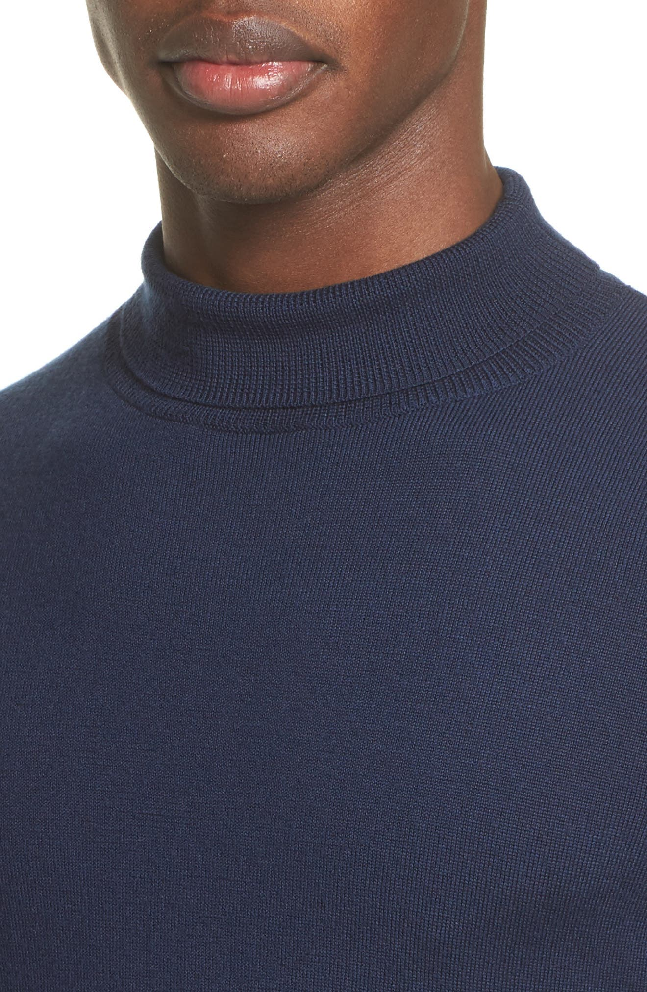 Alternate Image 4  - A.P.C. Dundee Mock Neck Sweater