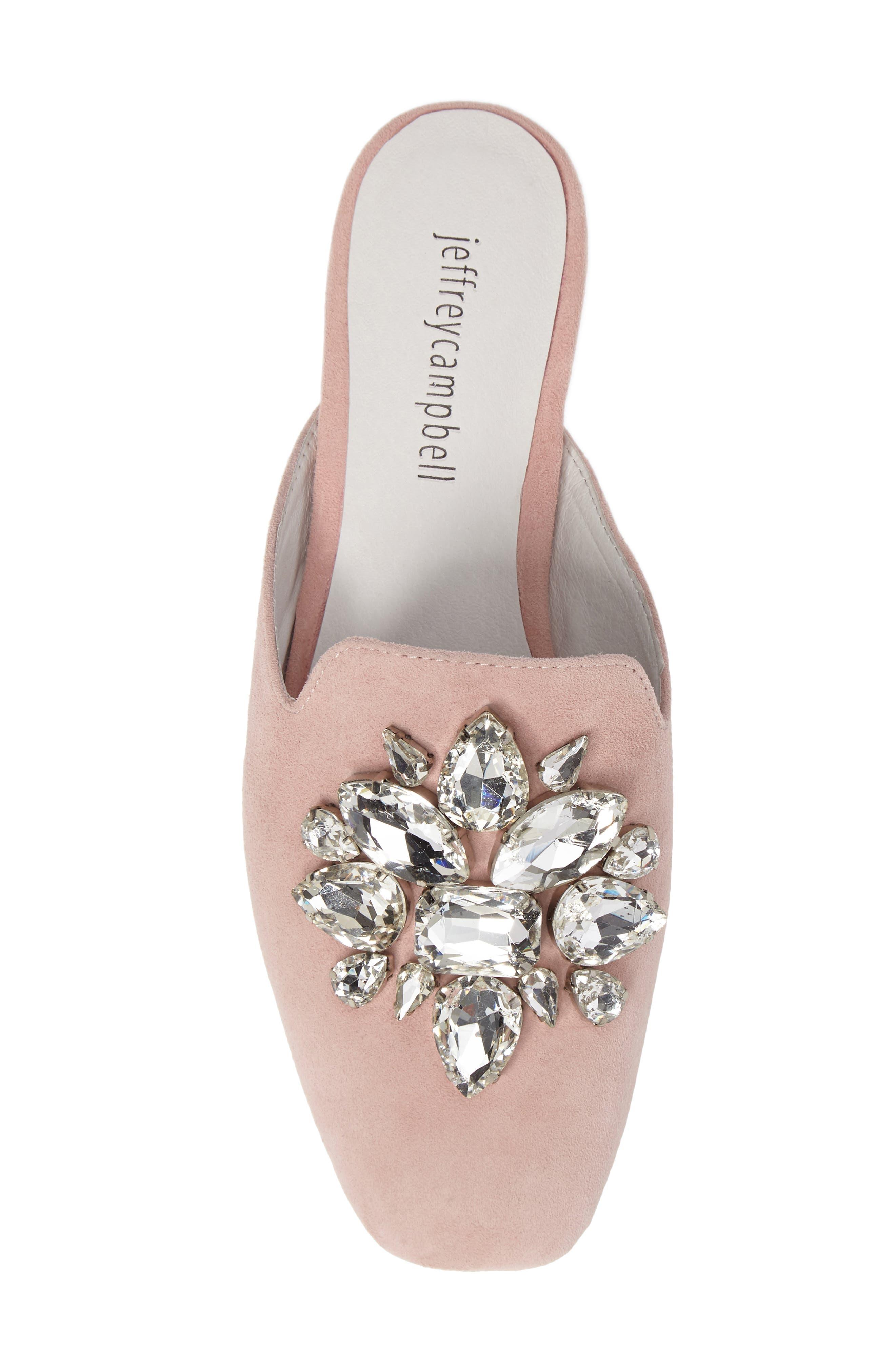 Alternate Image 5  - Jeffrey Campbell Ravis Crystal Embellished Mule (Women)