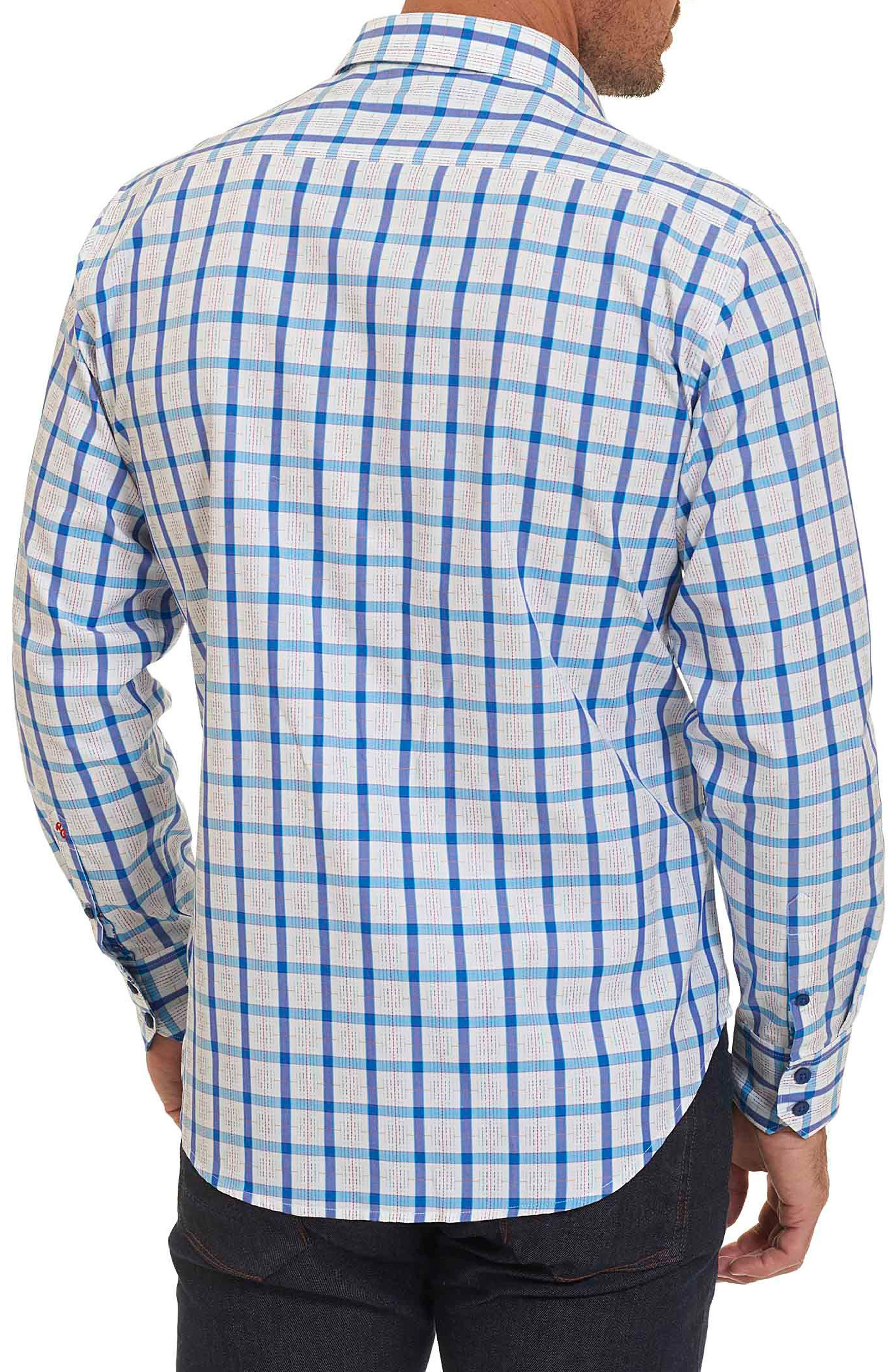 Alternate Image 2  - Robert Graham Classic Fit Check Sport Shirt (Tall)
