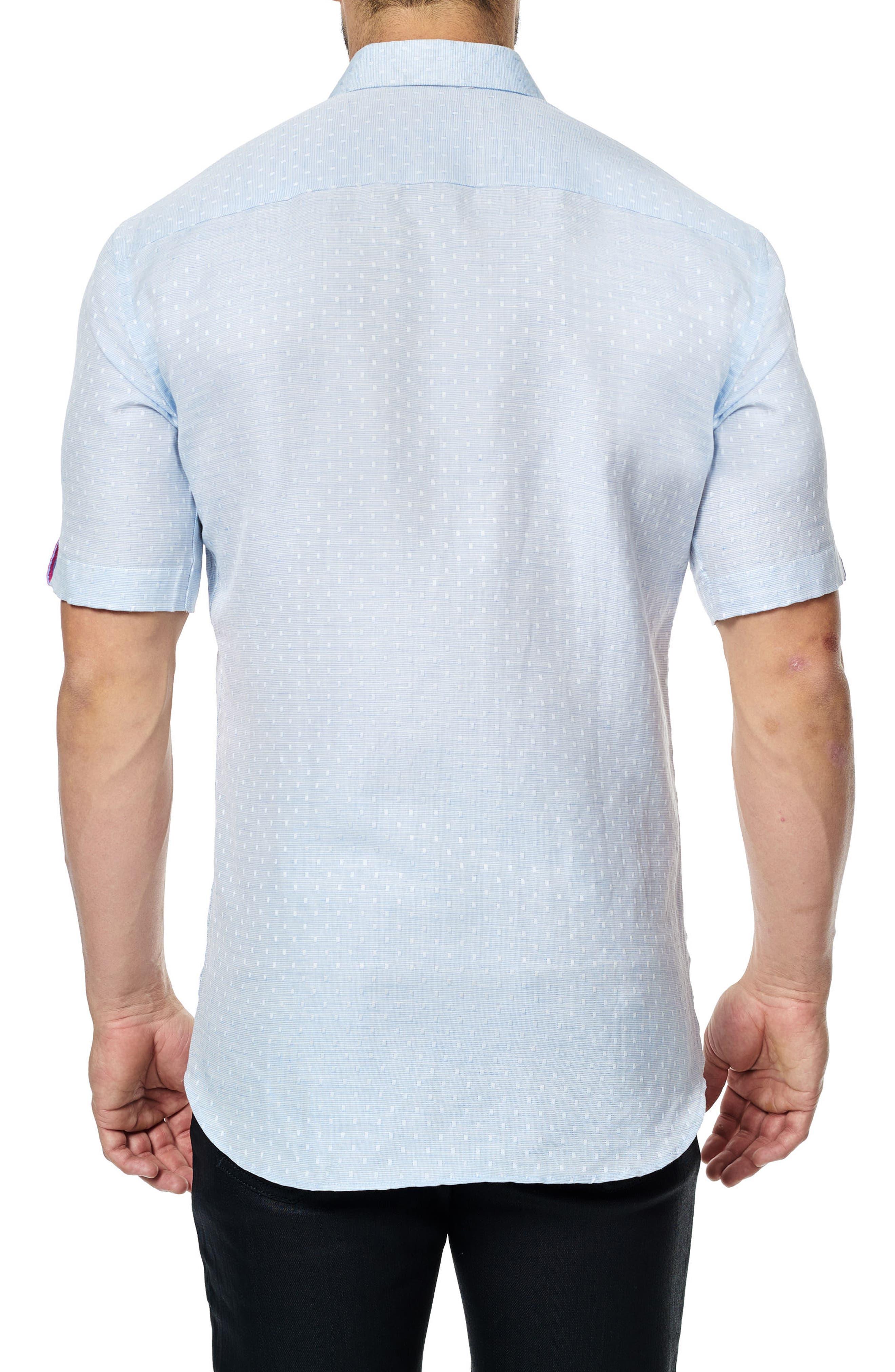 Alternate Image 2  - Maceoo Fresh Jacquard Sport Shirt